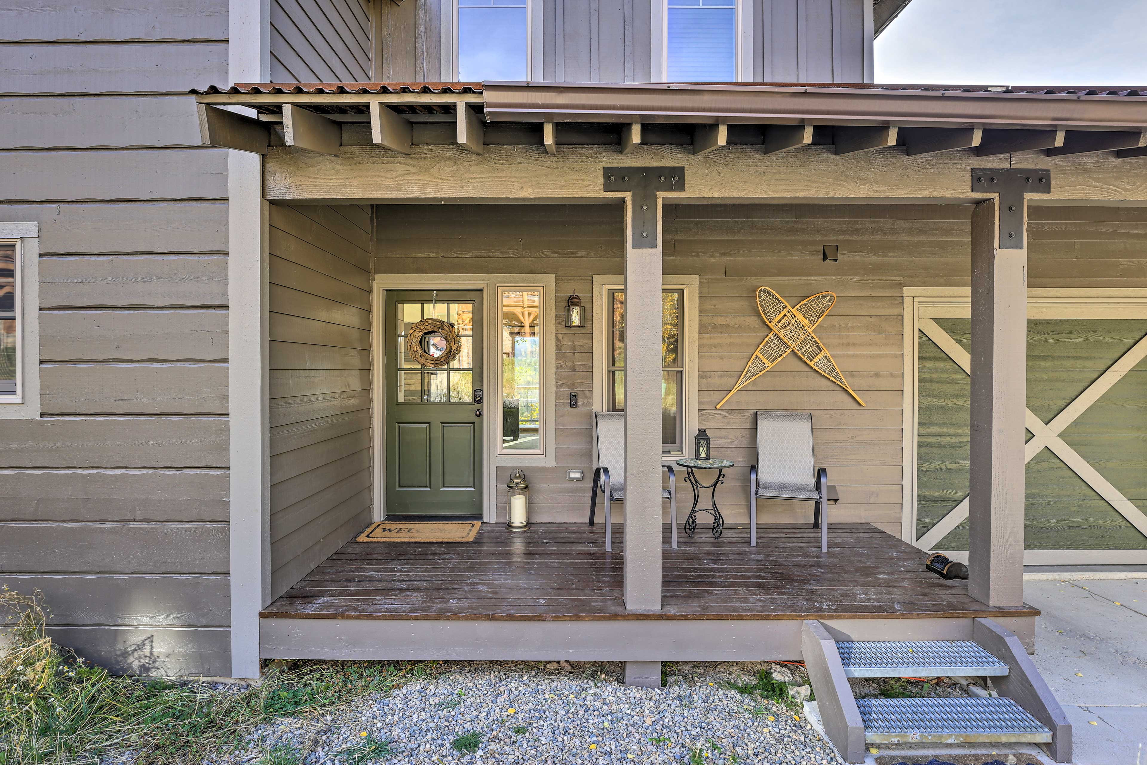 Enjoy a relaxing retreat at this Winter Park area cabin!