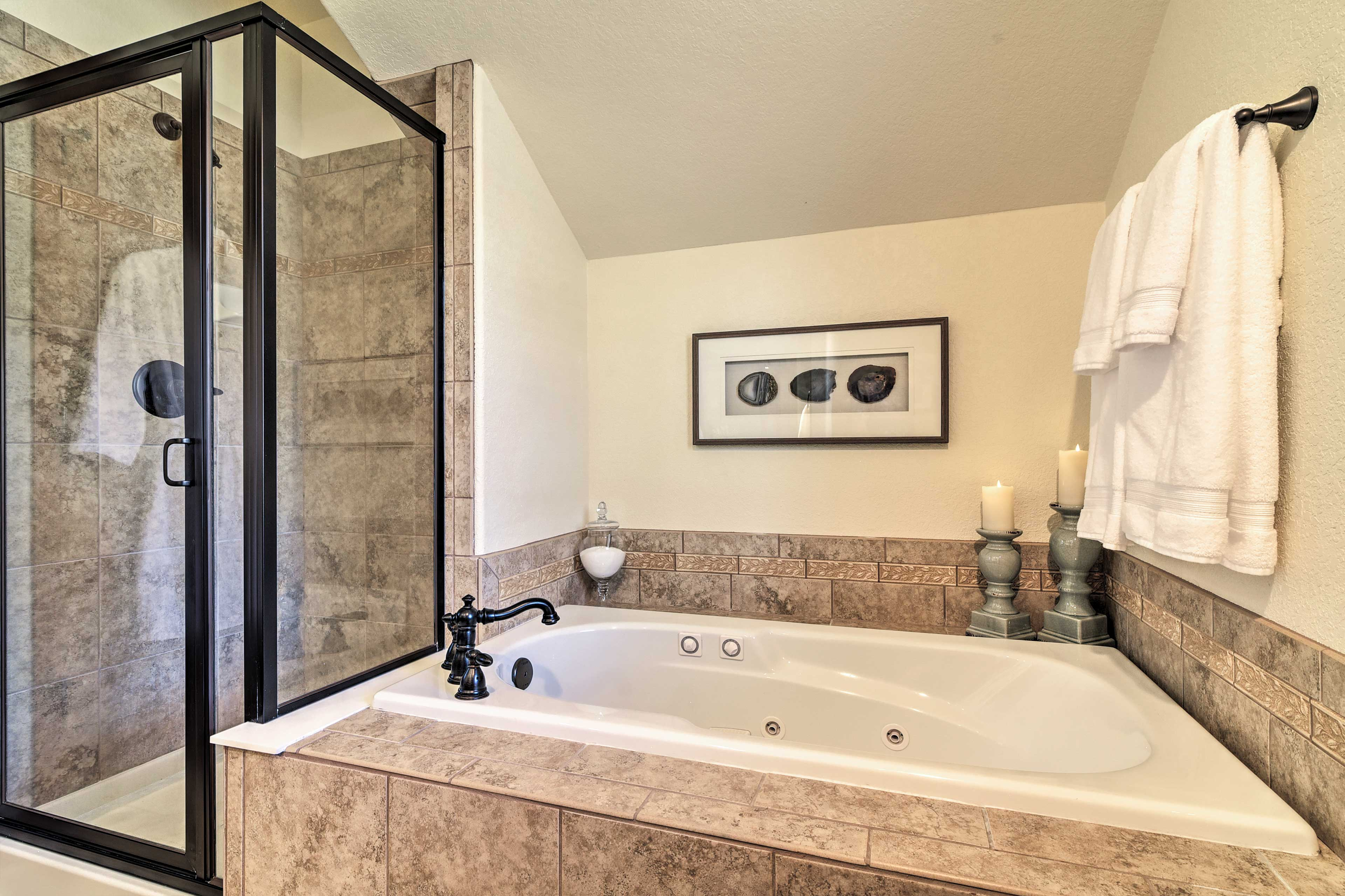Decompress with a warm bath.