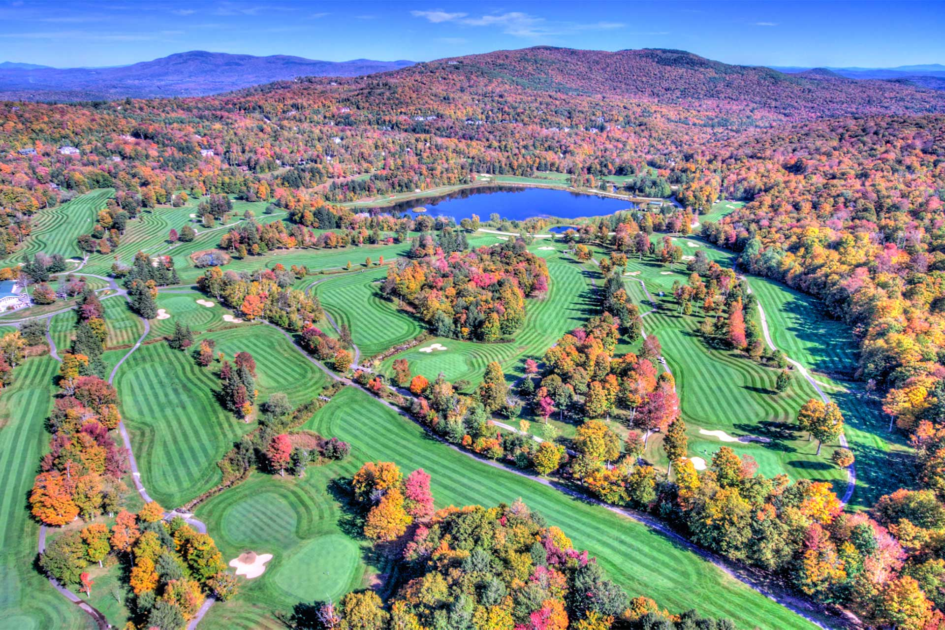 This stunning golf course is just 1/4 mile away.