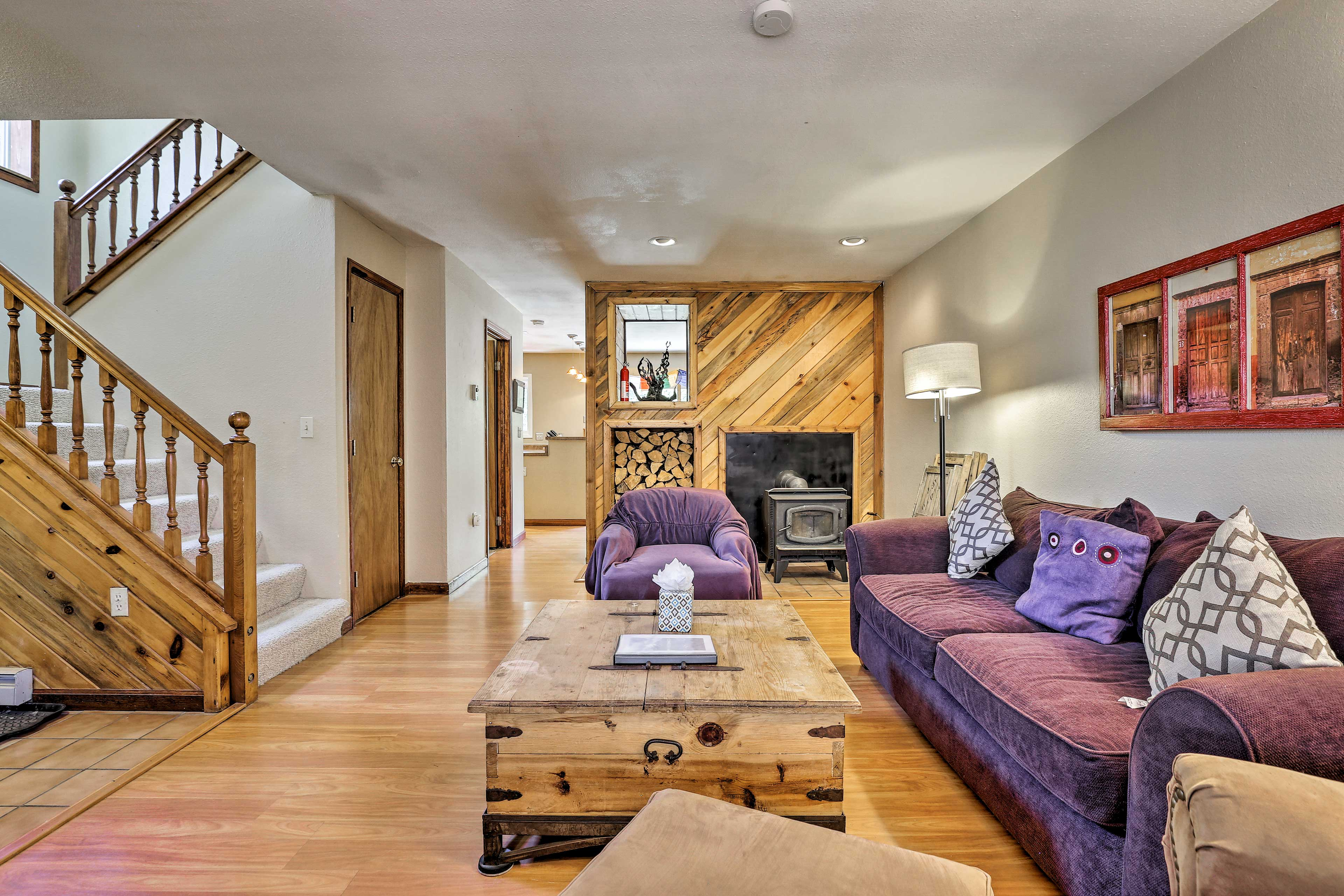 Book your Summit County trip to this 3-bedroom, 3-bath Frisco vacation rental!