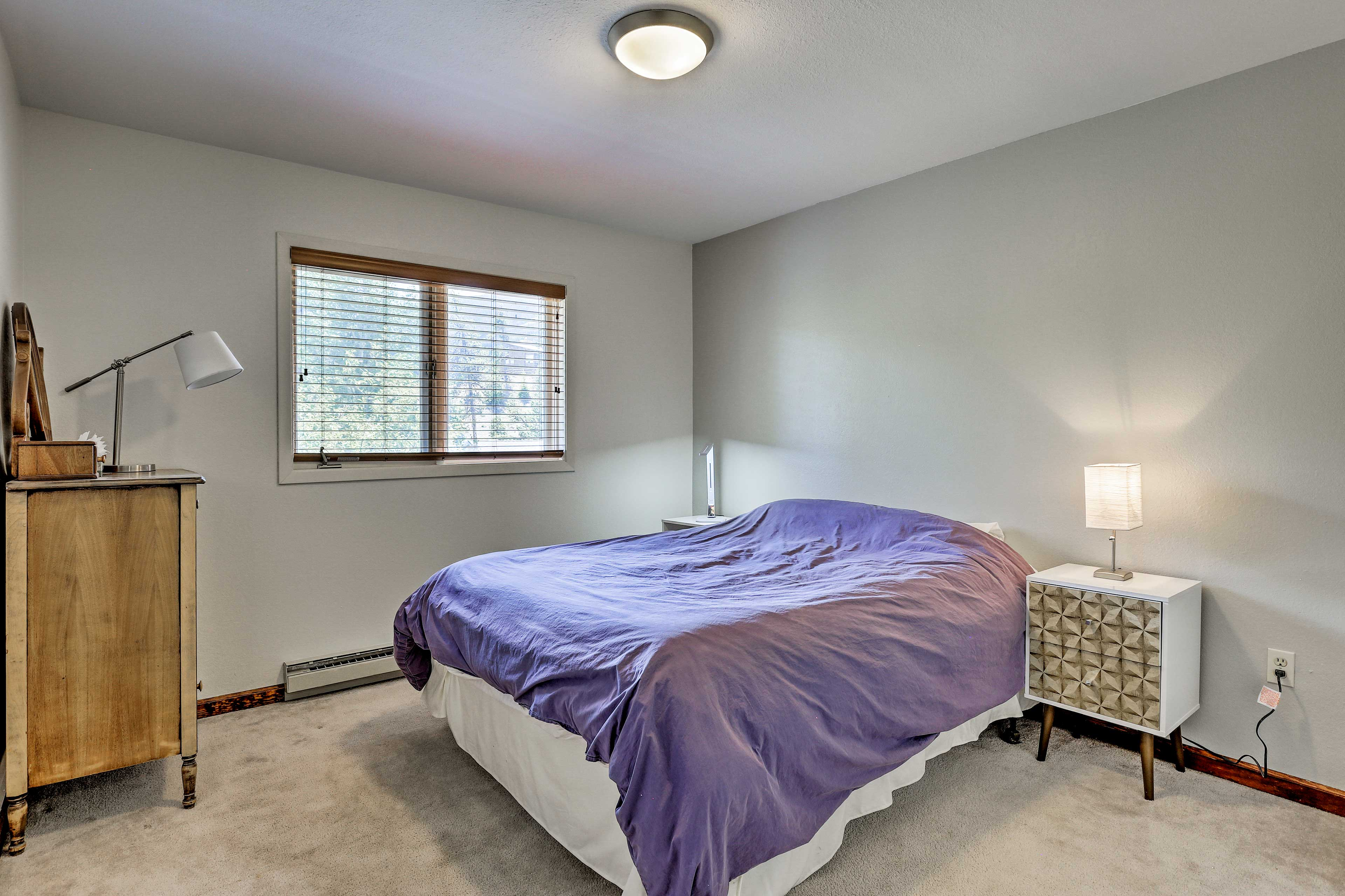 The third bedroom has a full bed for 2 guests to enjoy!
