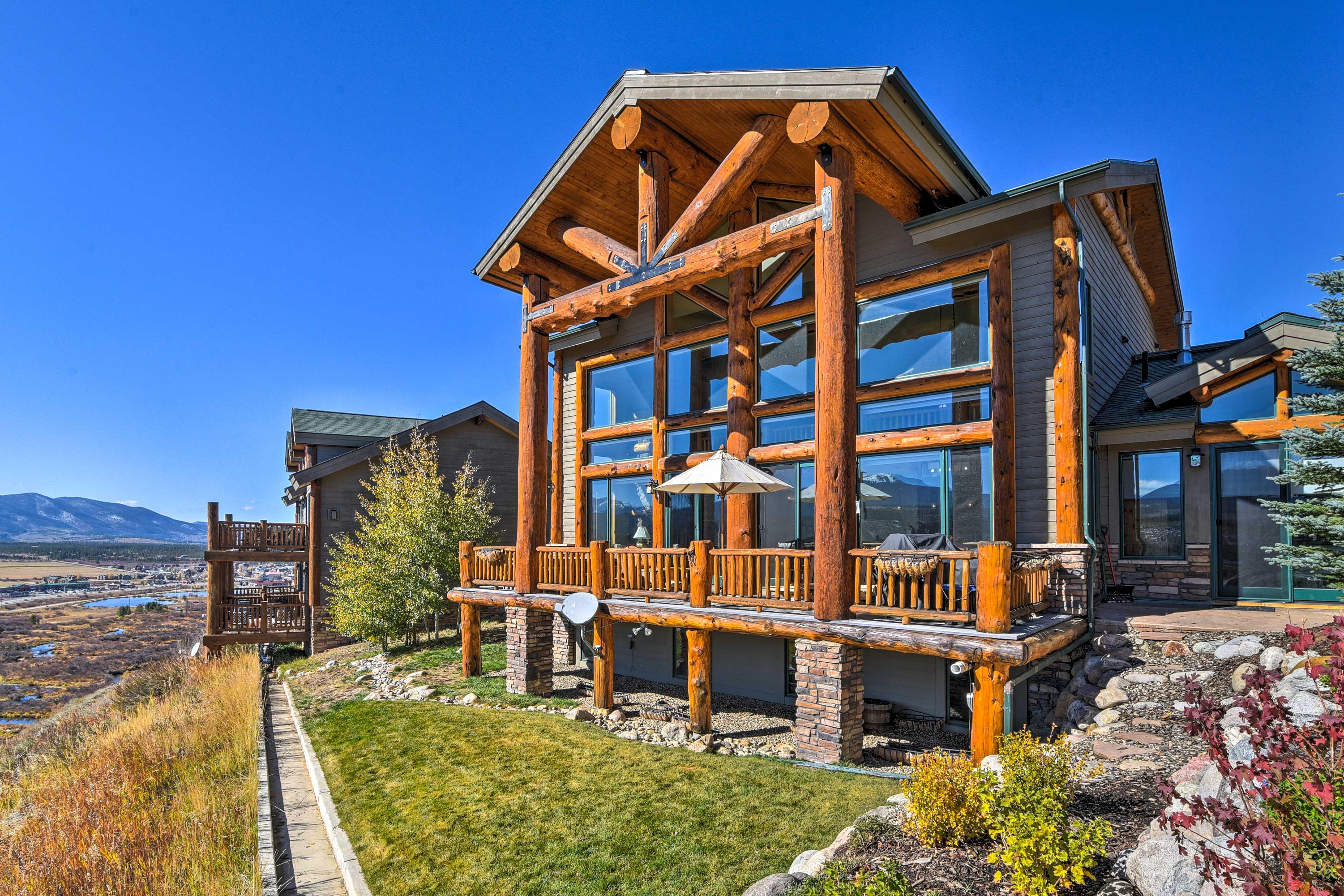 Fraser Vacation Rental | 3-Story Home | 6BR | 5.5BA | 4,341 Sq Ft