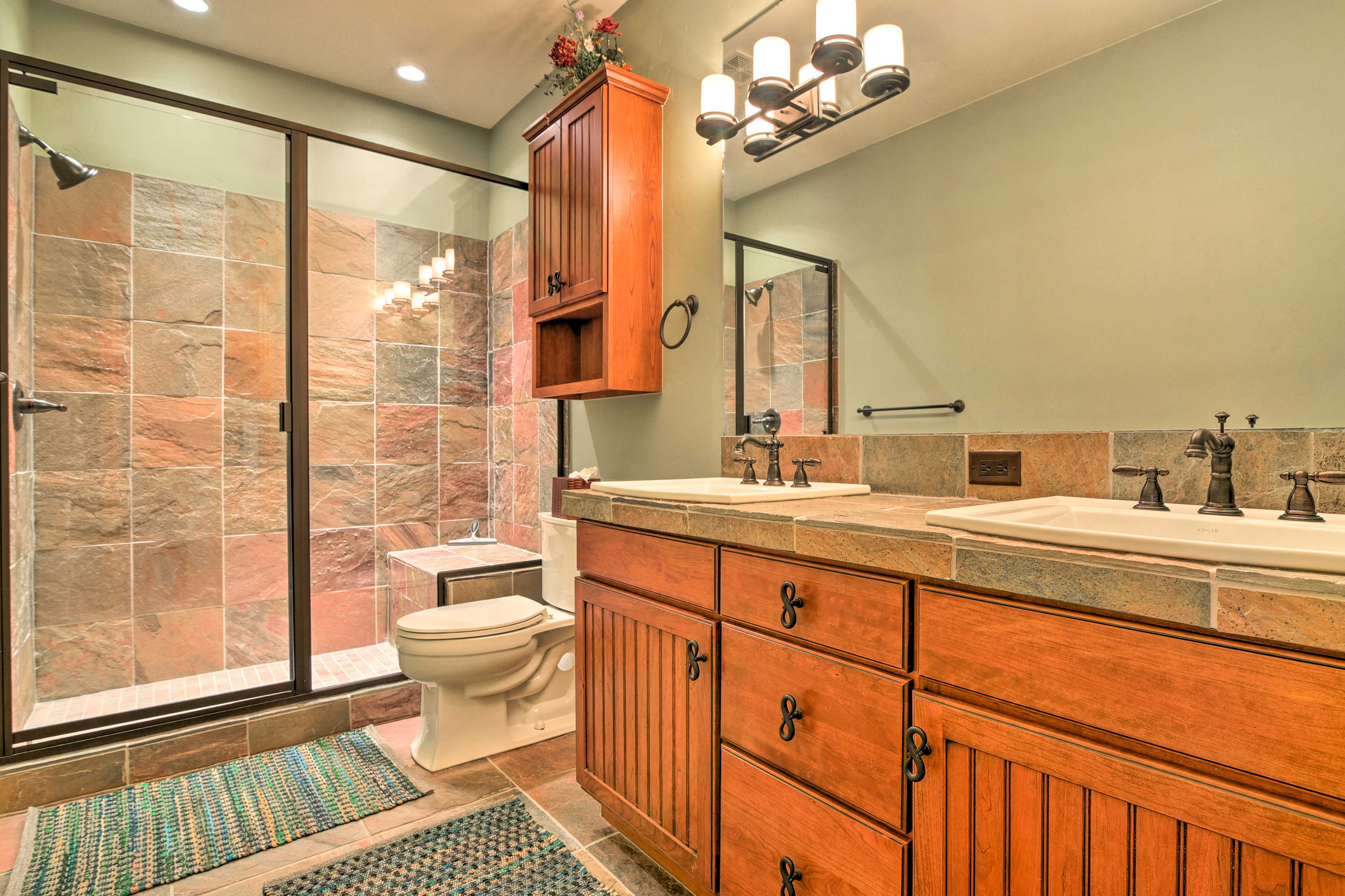 With 6 bathrooms, everyone will have plenty of space to freshen up.
