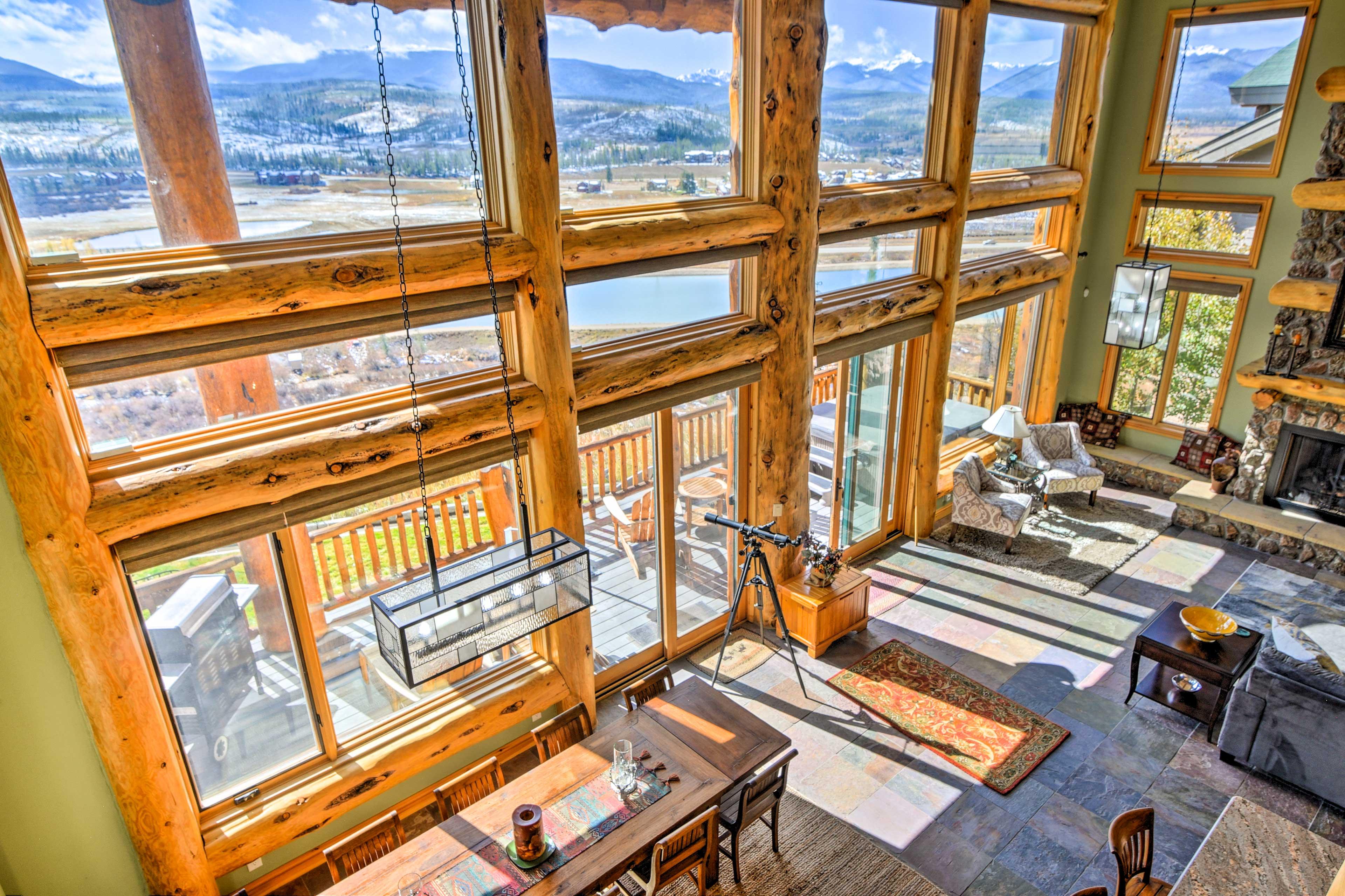 Upstairs Bedroom Hallway | Mountain Views