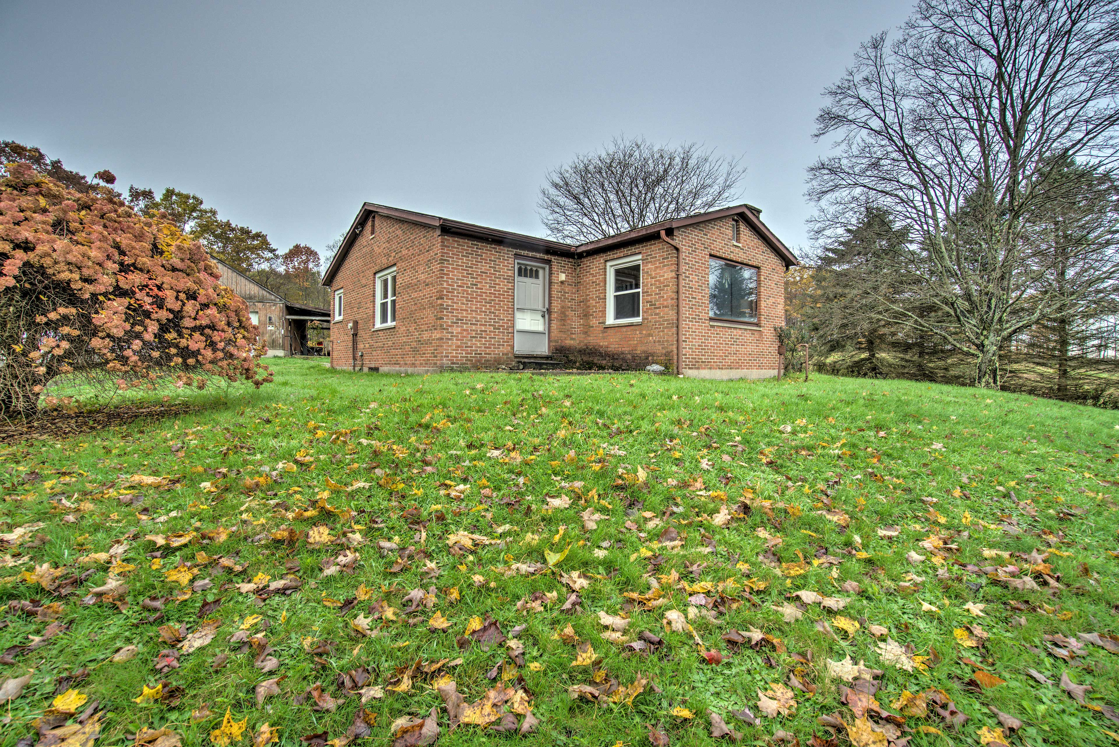 You'll love the home's private and peaceful location.