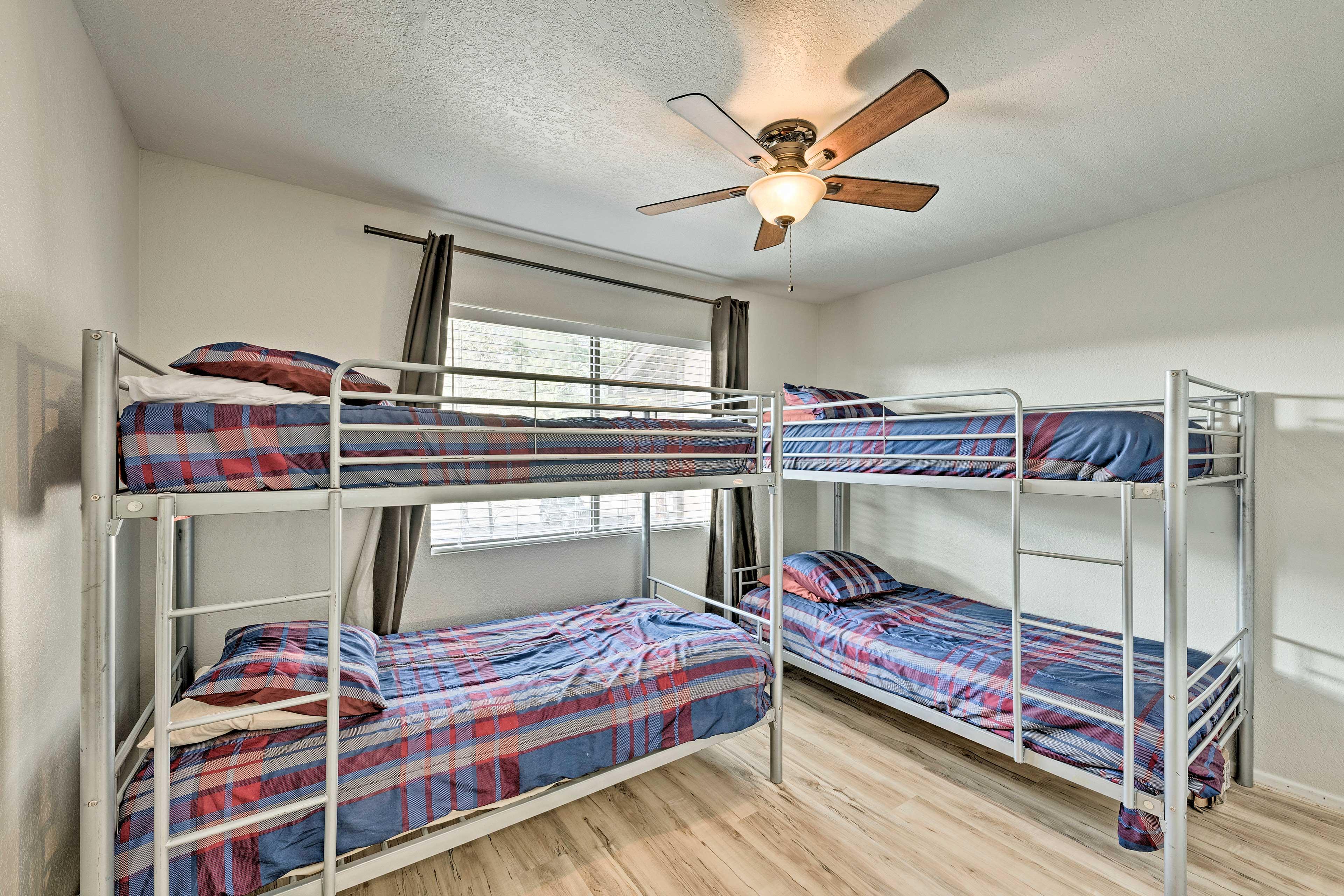 Bedroom 3   2 Twin Bunk Beds