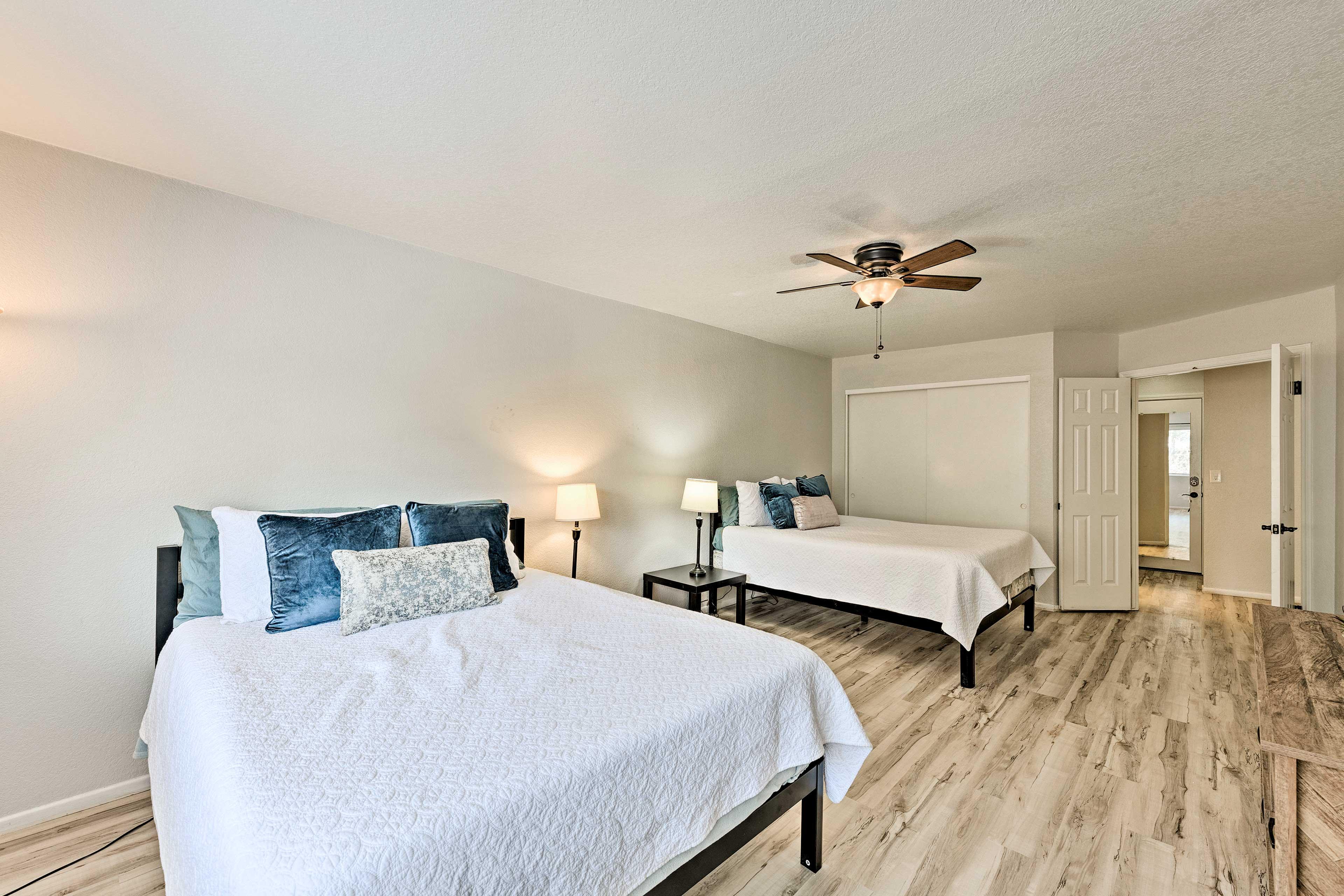Master Bedroom   Linens Provided
