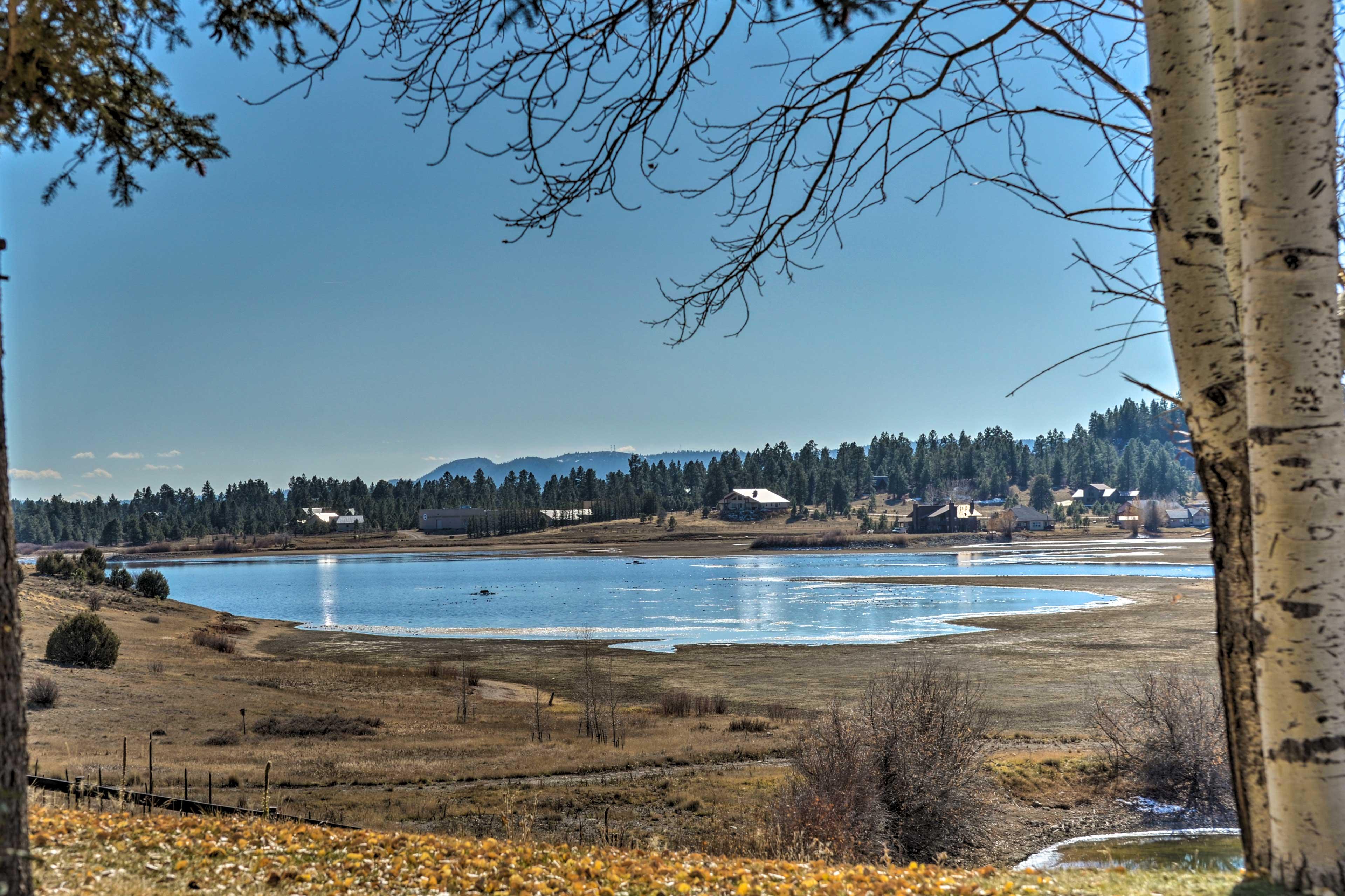 Enjoy views of Hatcher Reservoir!