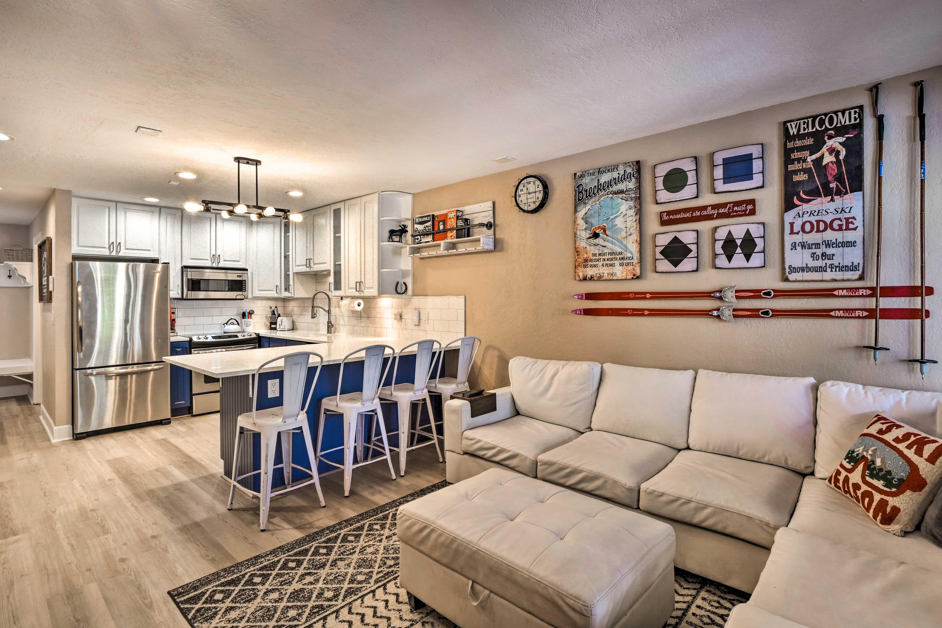 Breckenridge Vacation Rental | 3BR | 3BA | 1,700 Sq Ft | 3 Stories