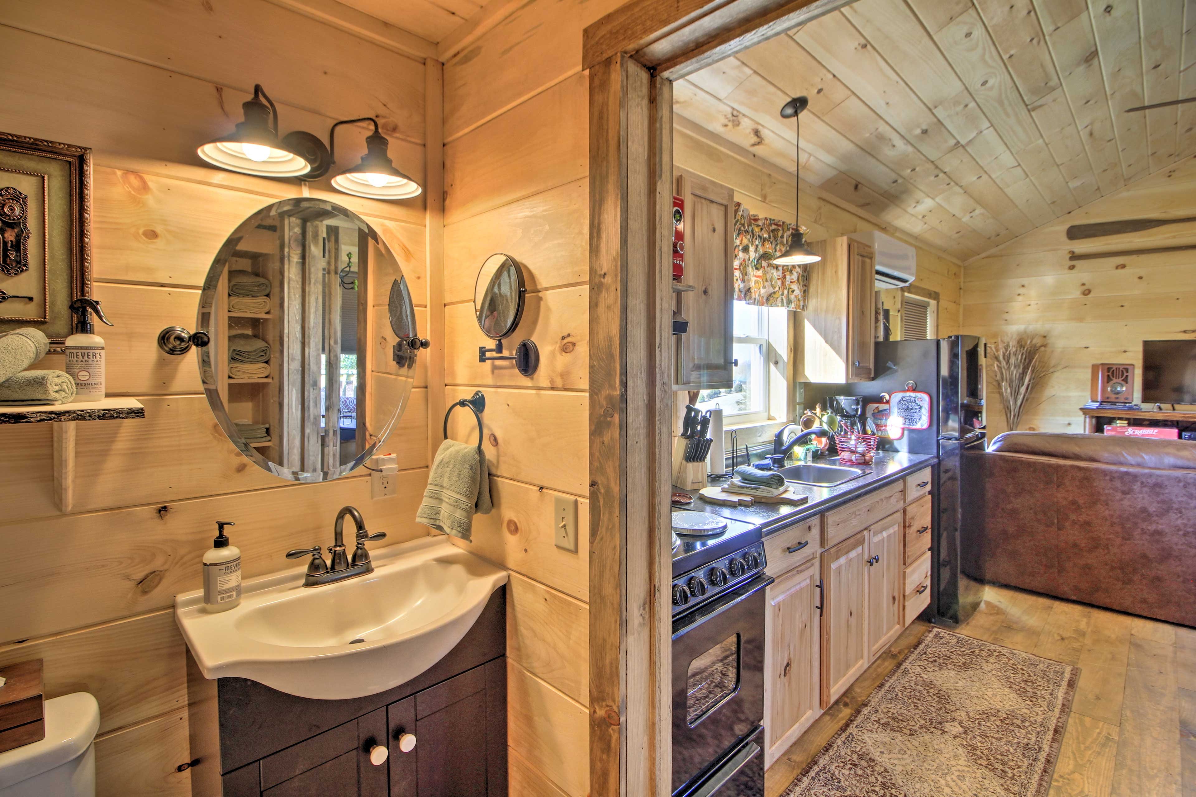 The property features 1 full bathroom.