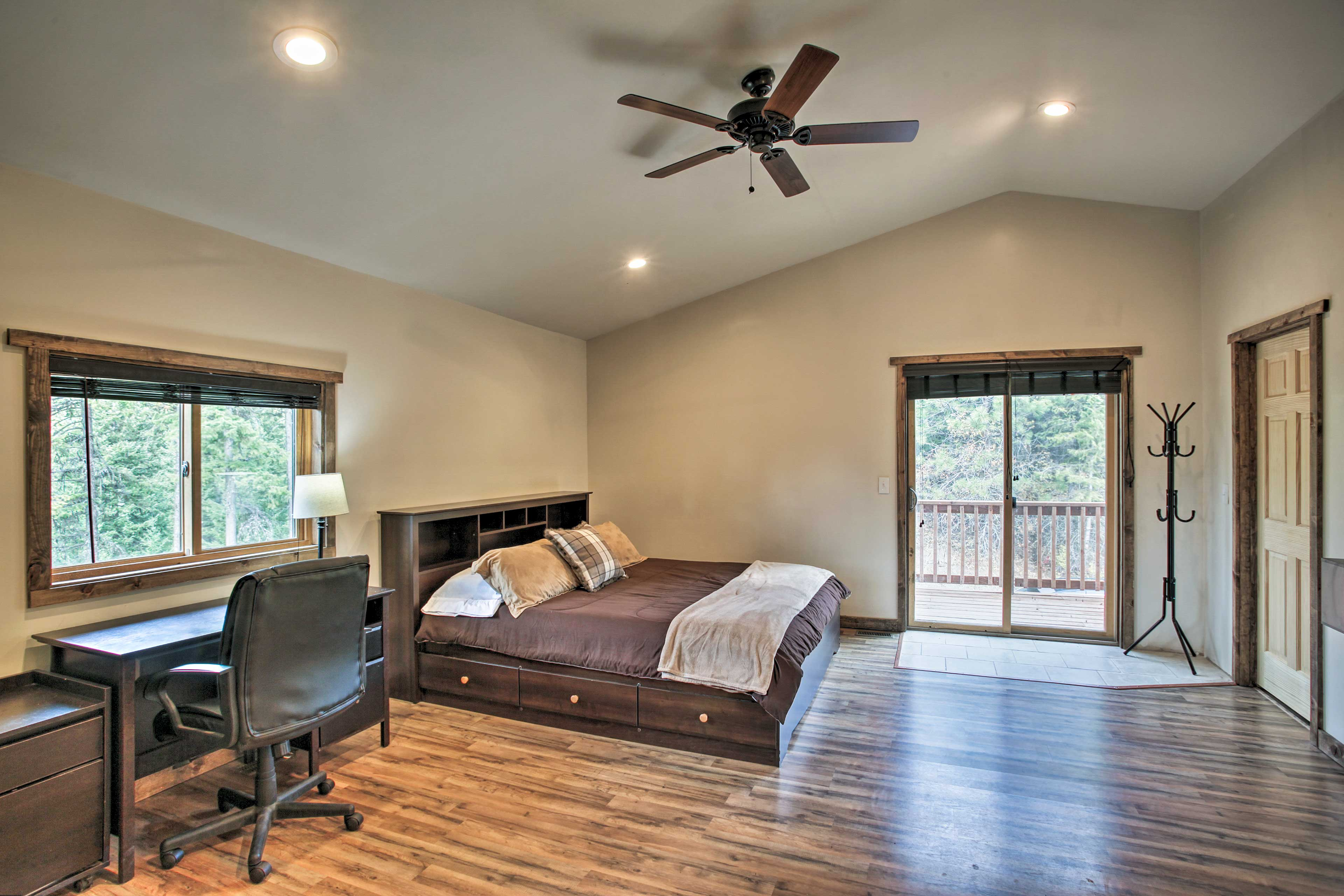 Take solace in one of 3 bedrooms for a peaceful slumber.