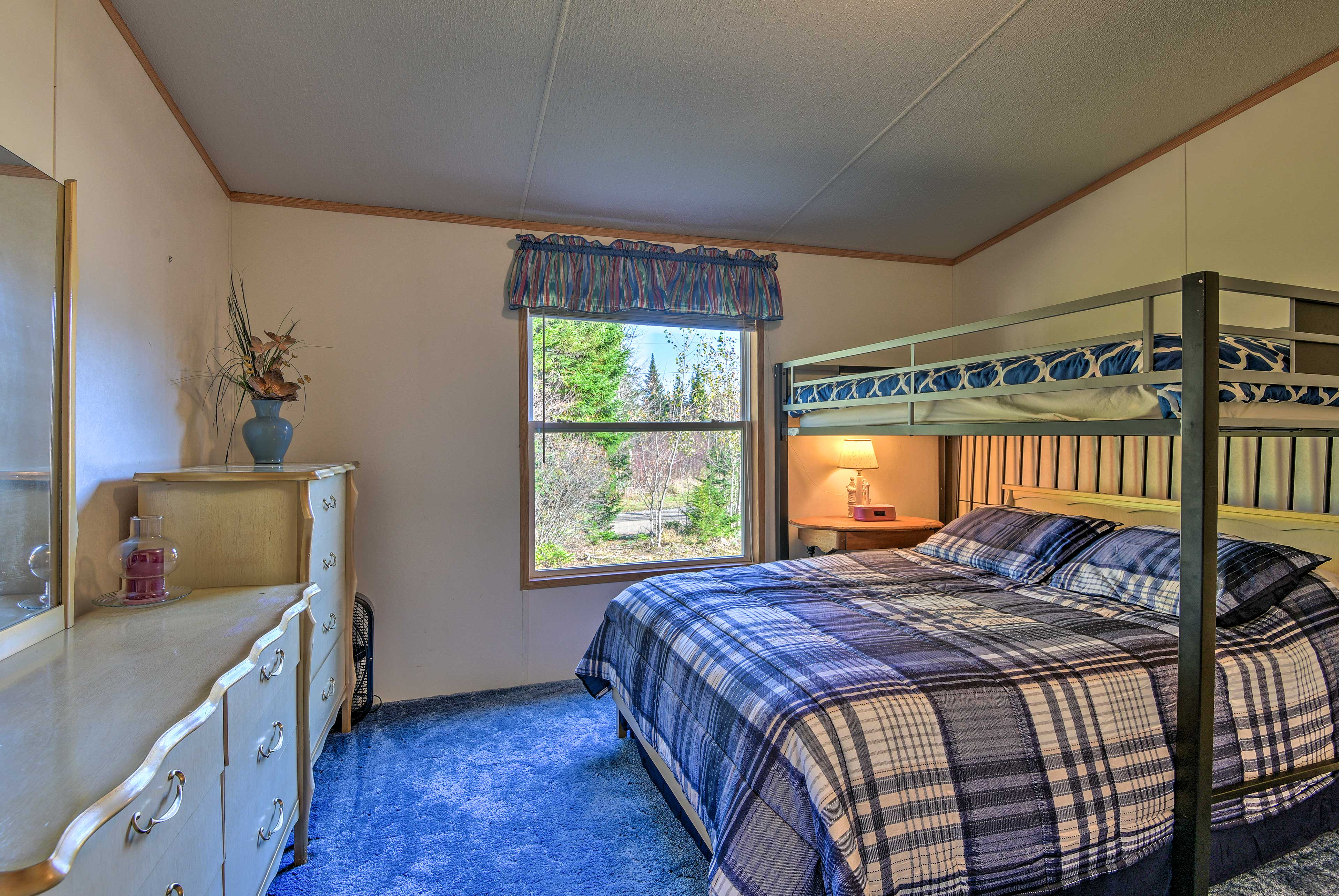 Perfect for kids, this room sleeps 4.