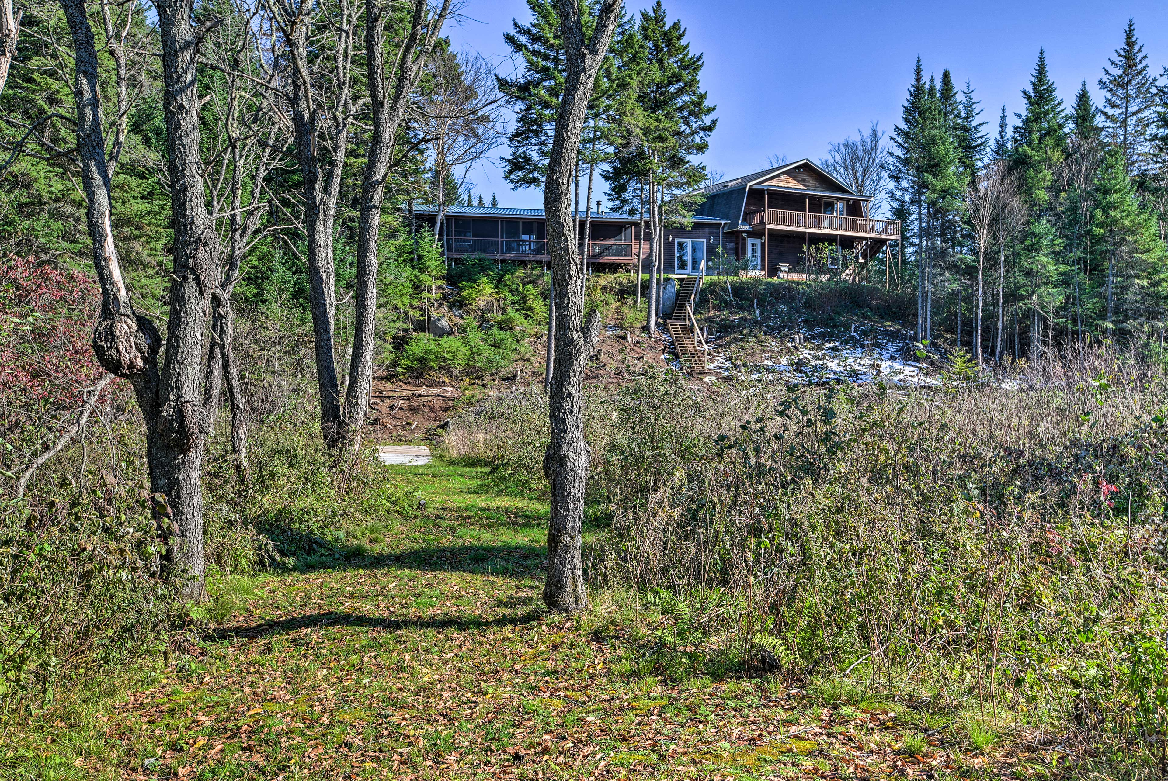 You'll be minutes from ATV and snowmobile trails!