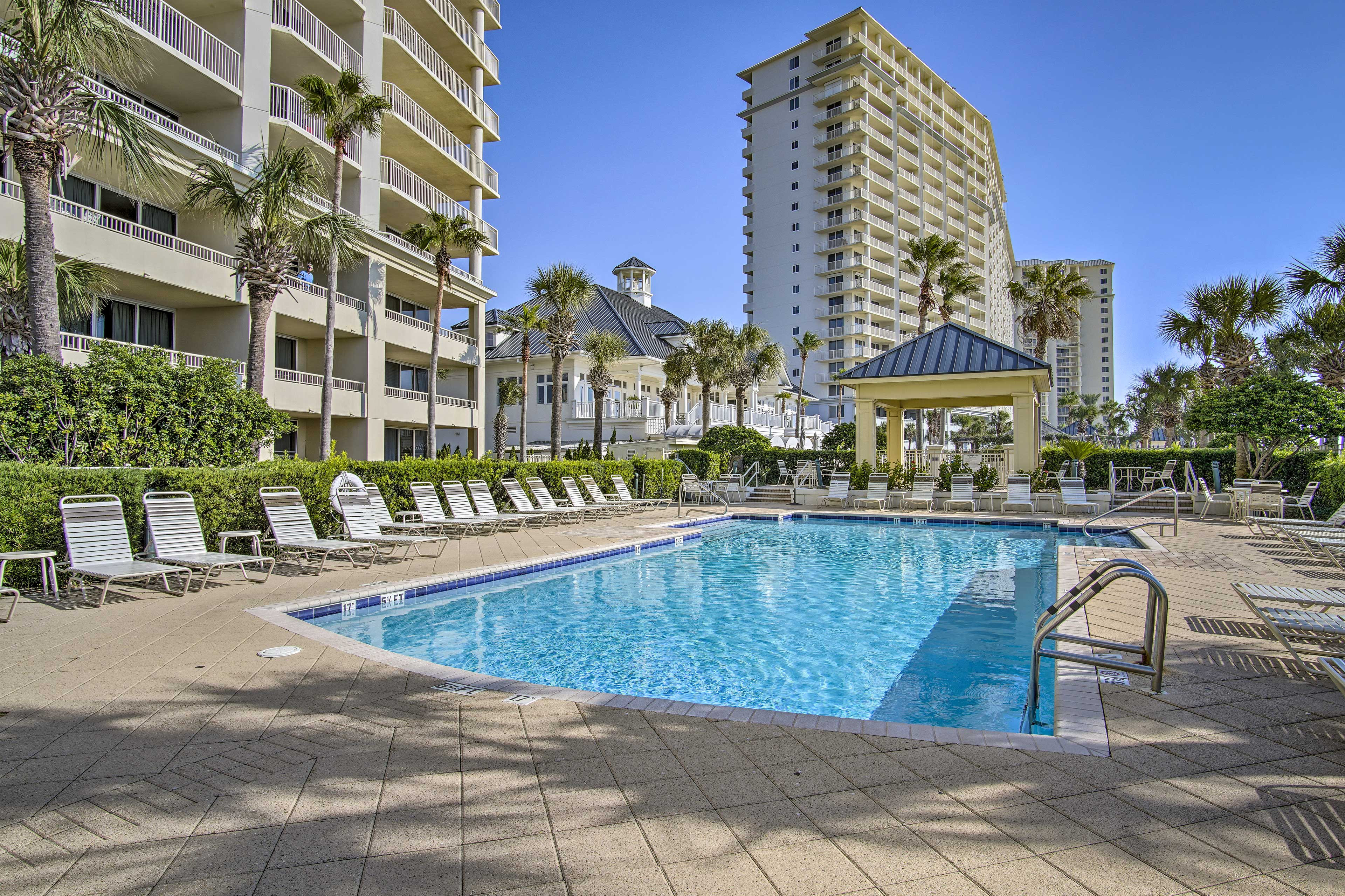 Enjoy access to the amazing amenities at The Beach Club Resort & Spa.
