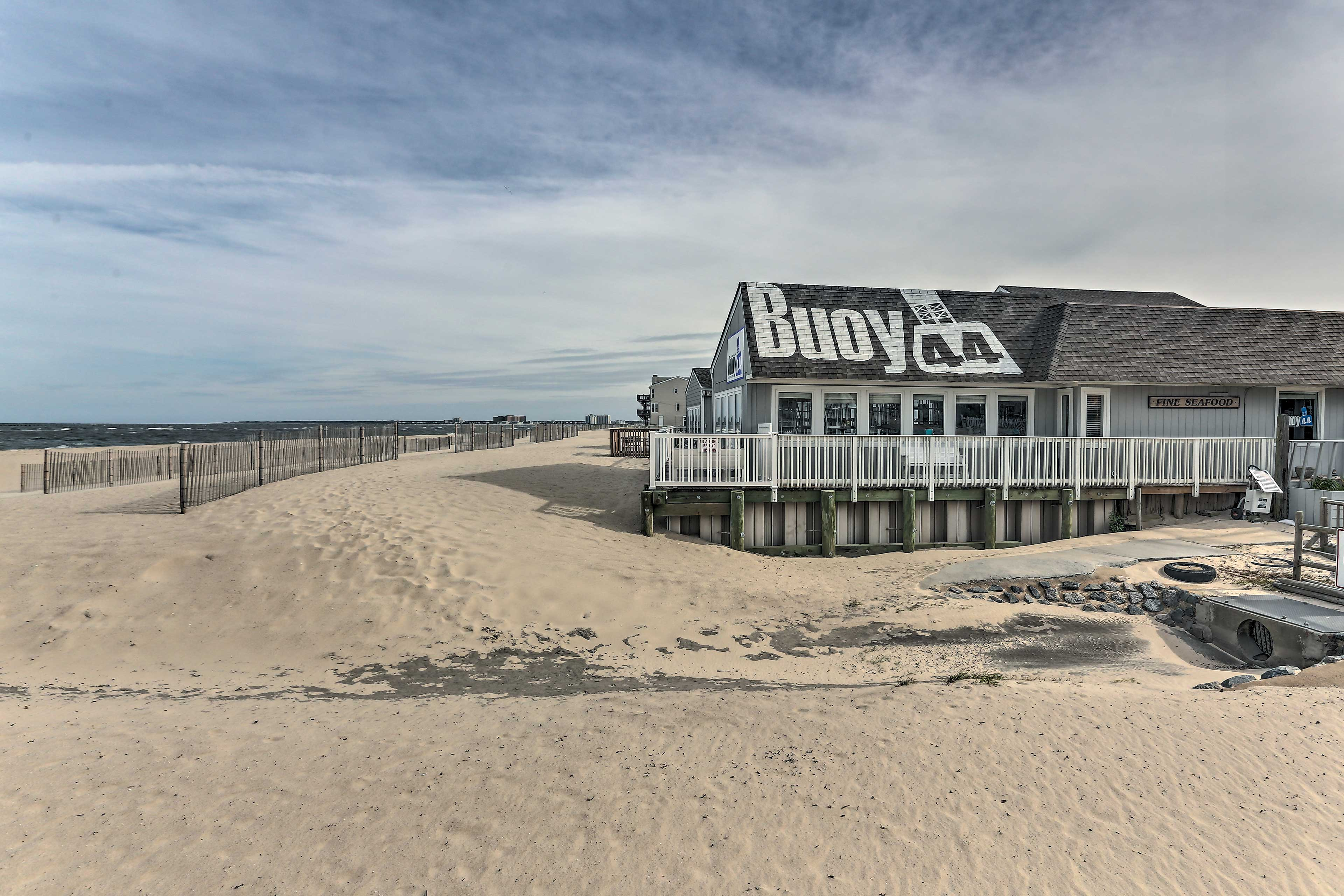 You'll be just 1 block away from the beach!