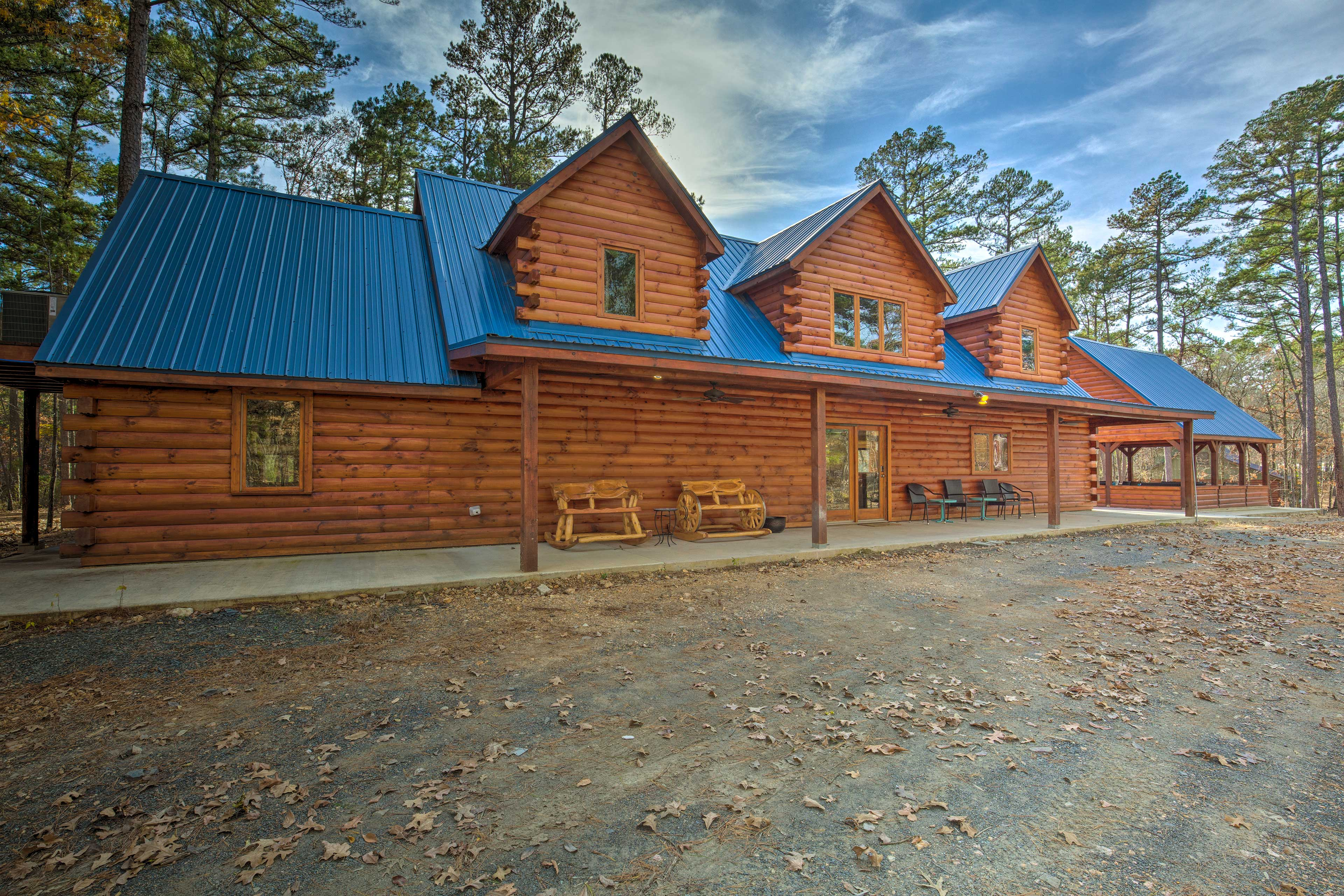 'Blue Bass Lodge' is the perfect retreat.
