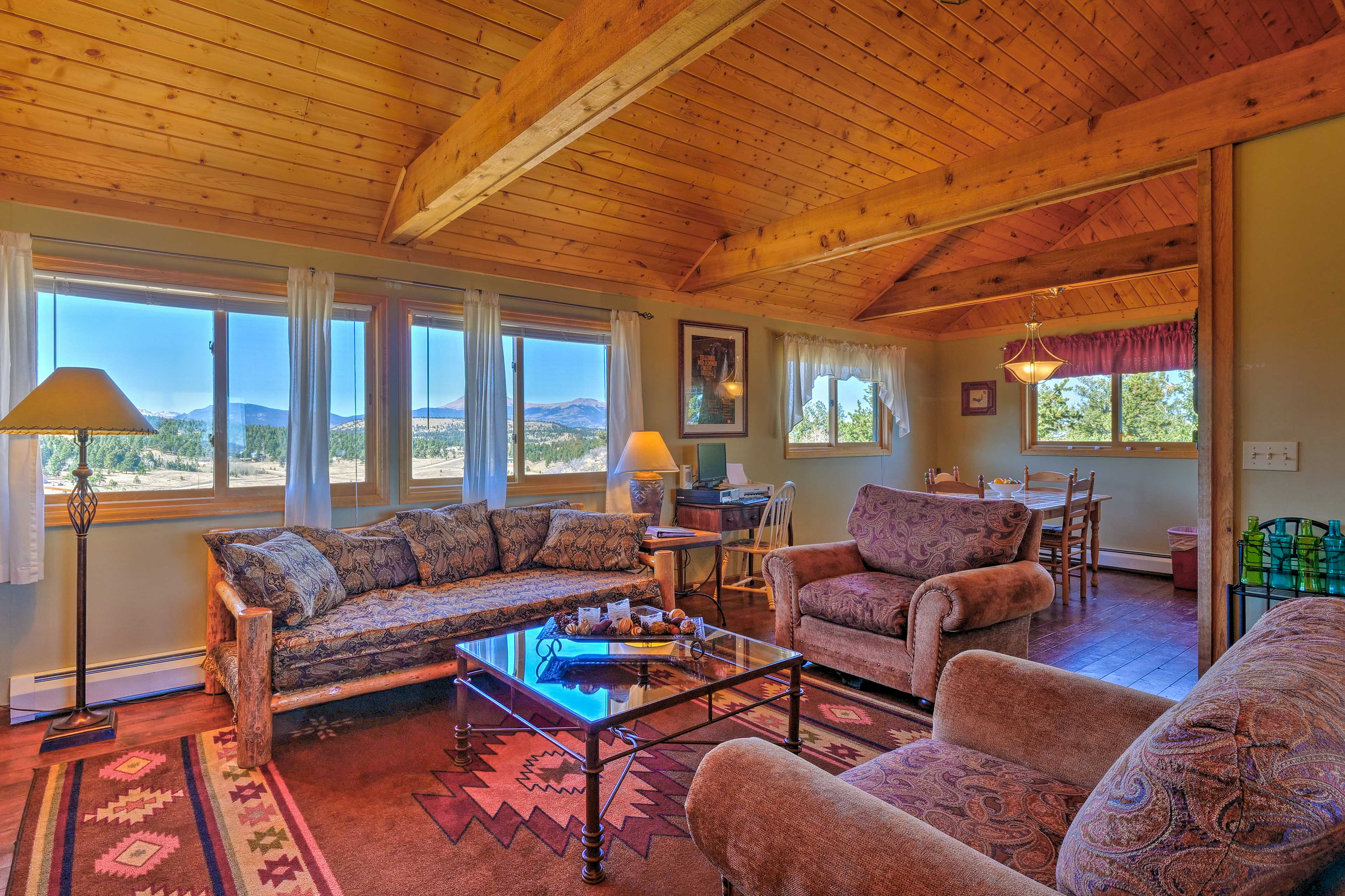 Experience the best of the Rockies from this 2-bed, 1-bath vacation rental home!