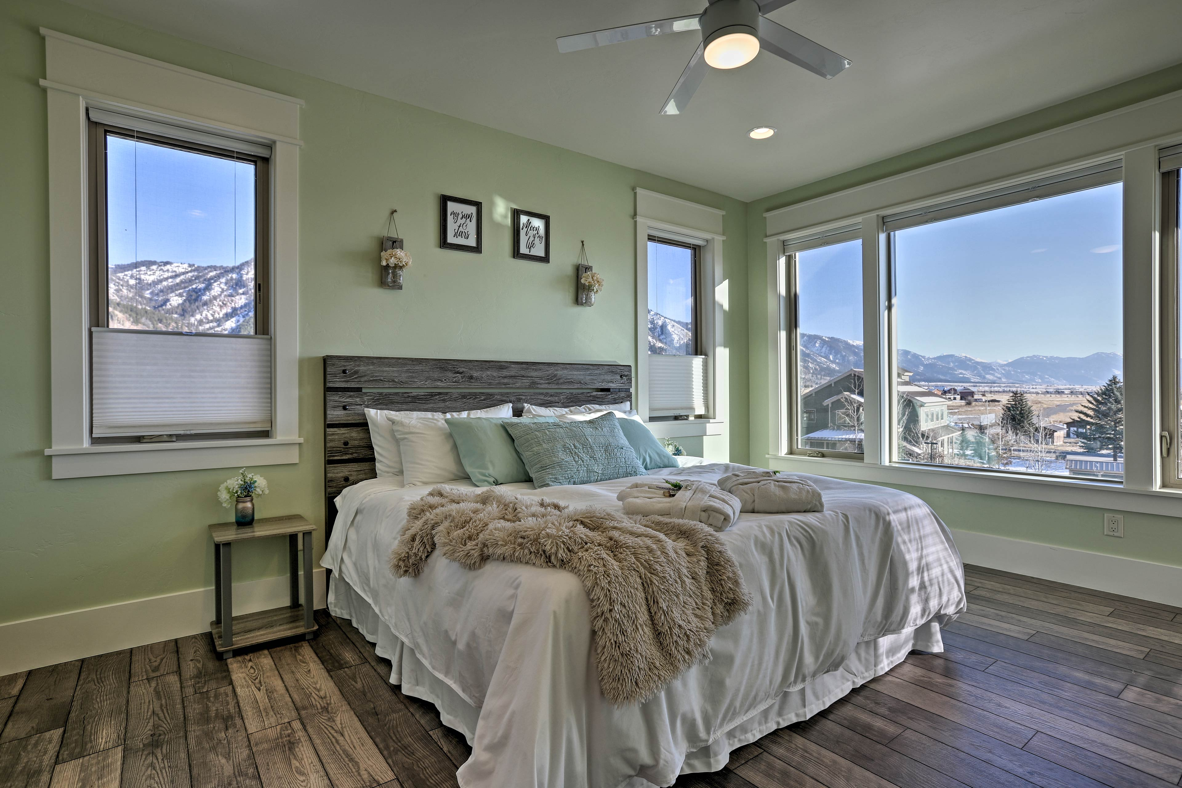 Heads of the household will be treated to this beautiful master suite.