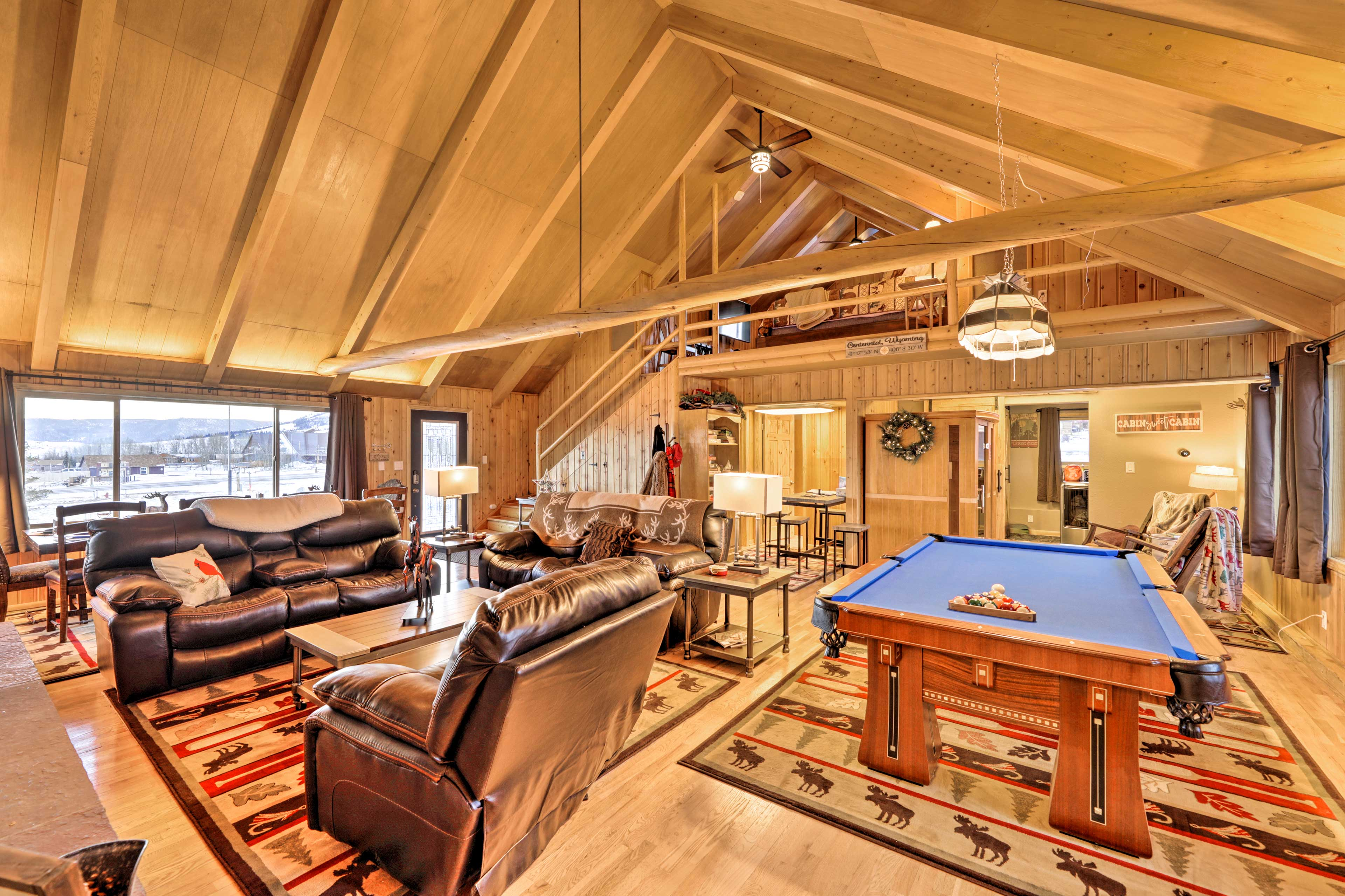 Experience an unforgettable trip at this vacation rental house in Centennial!