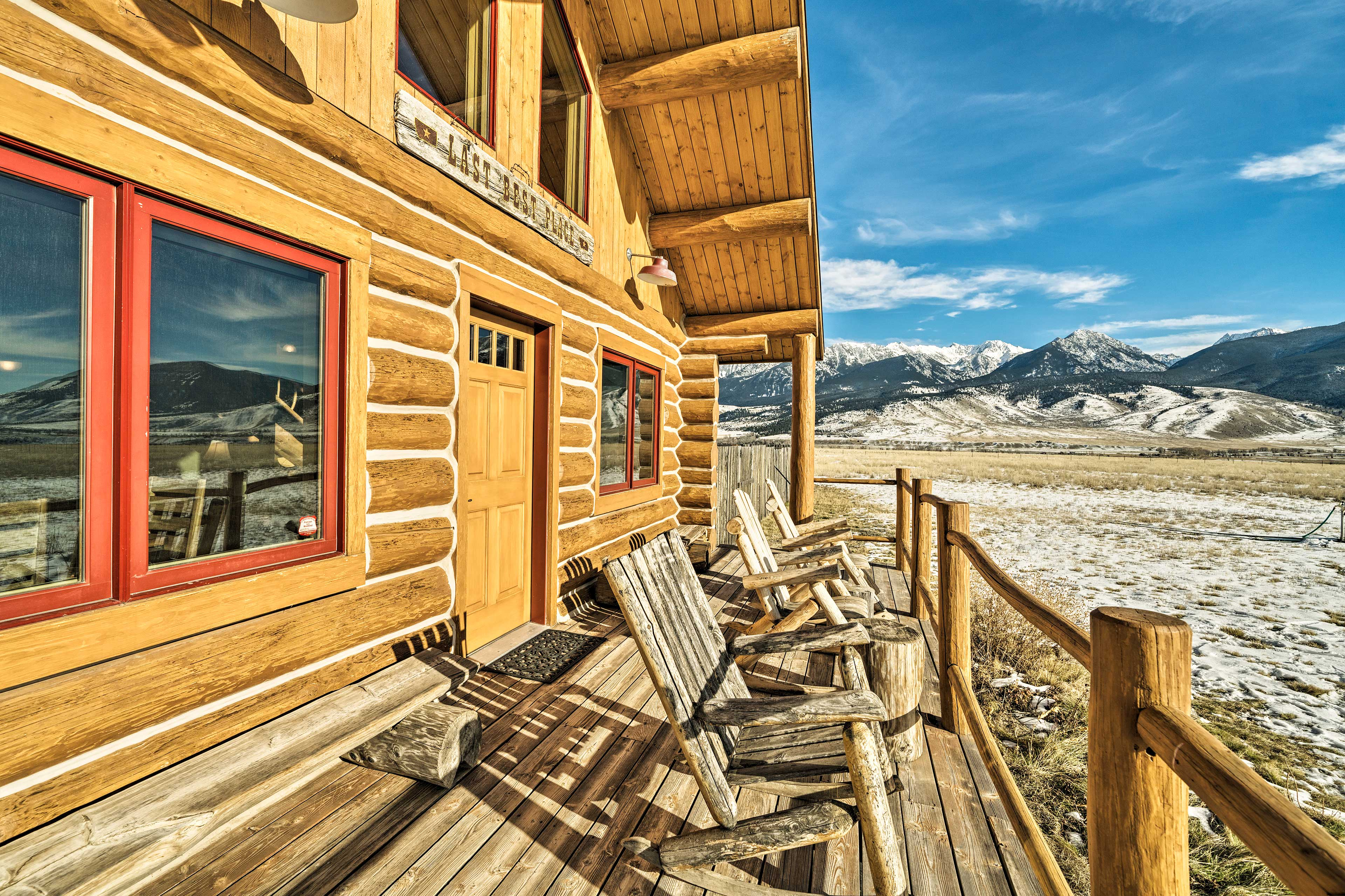 Hot coffee and alpine views are the perfect morning combo!
