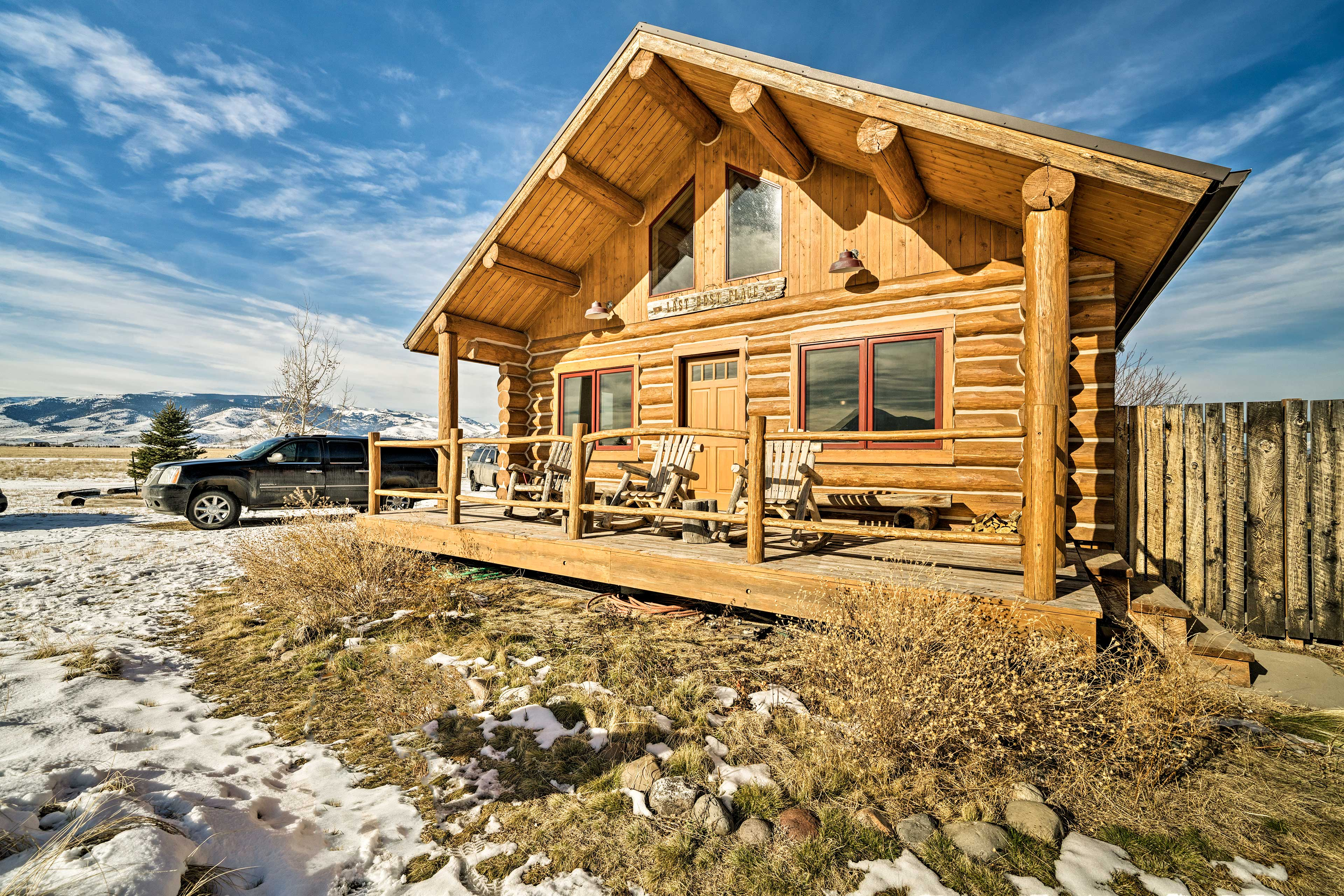 Experience the best of Montana from 'The Last Best Cabin!'