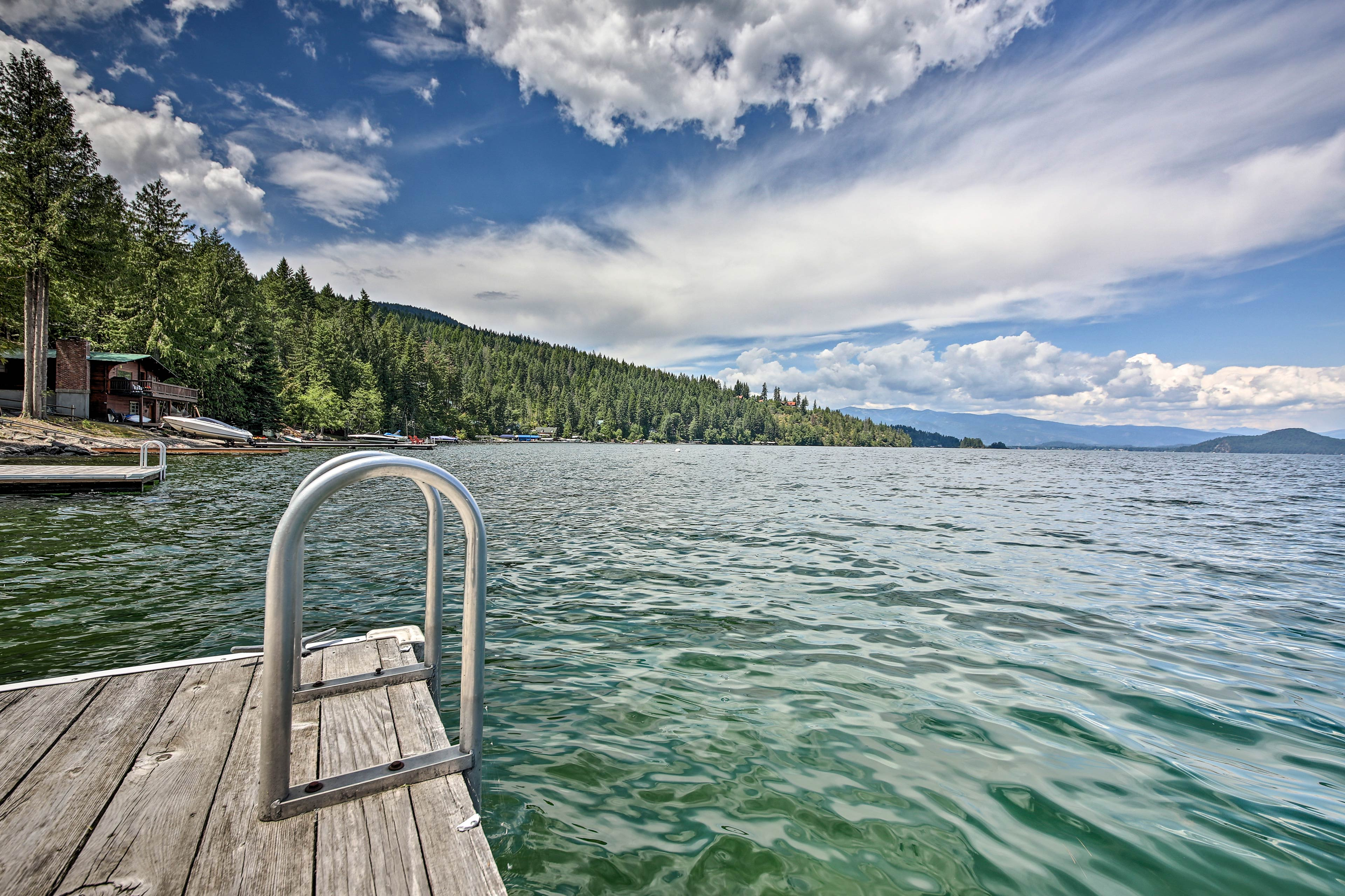 Avid boaters will love this destination.