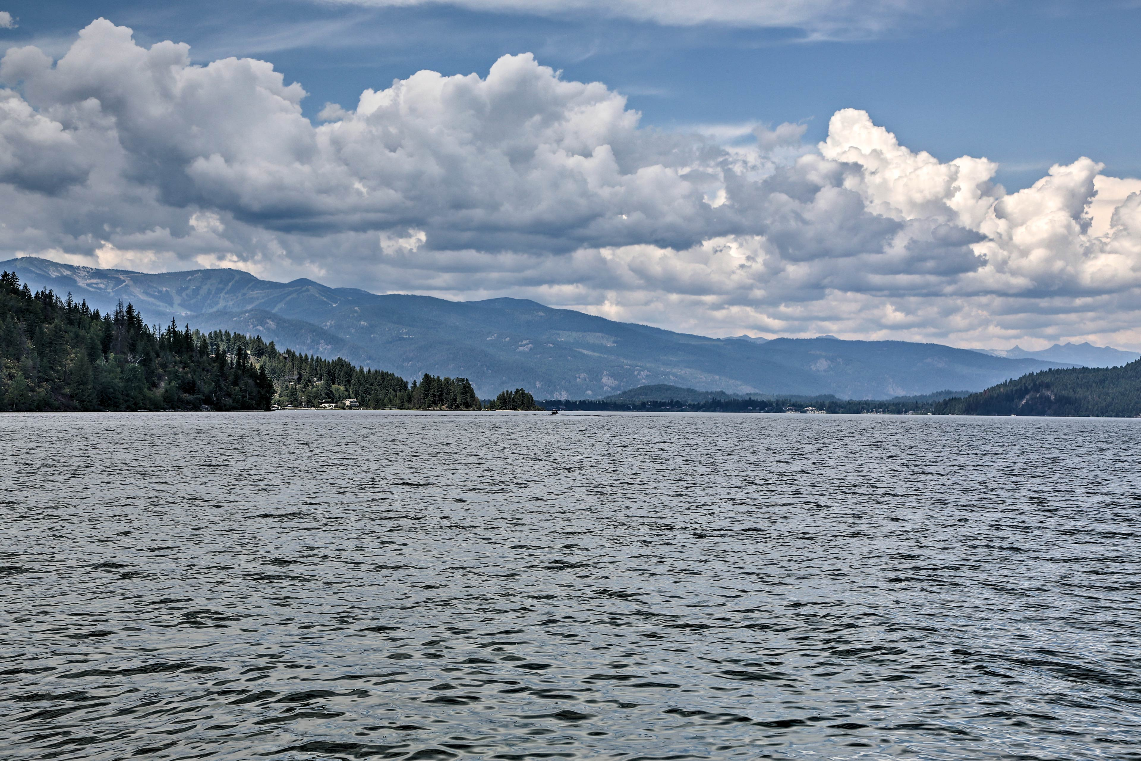 Lake Pend Oreille calls you to get away.