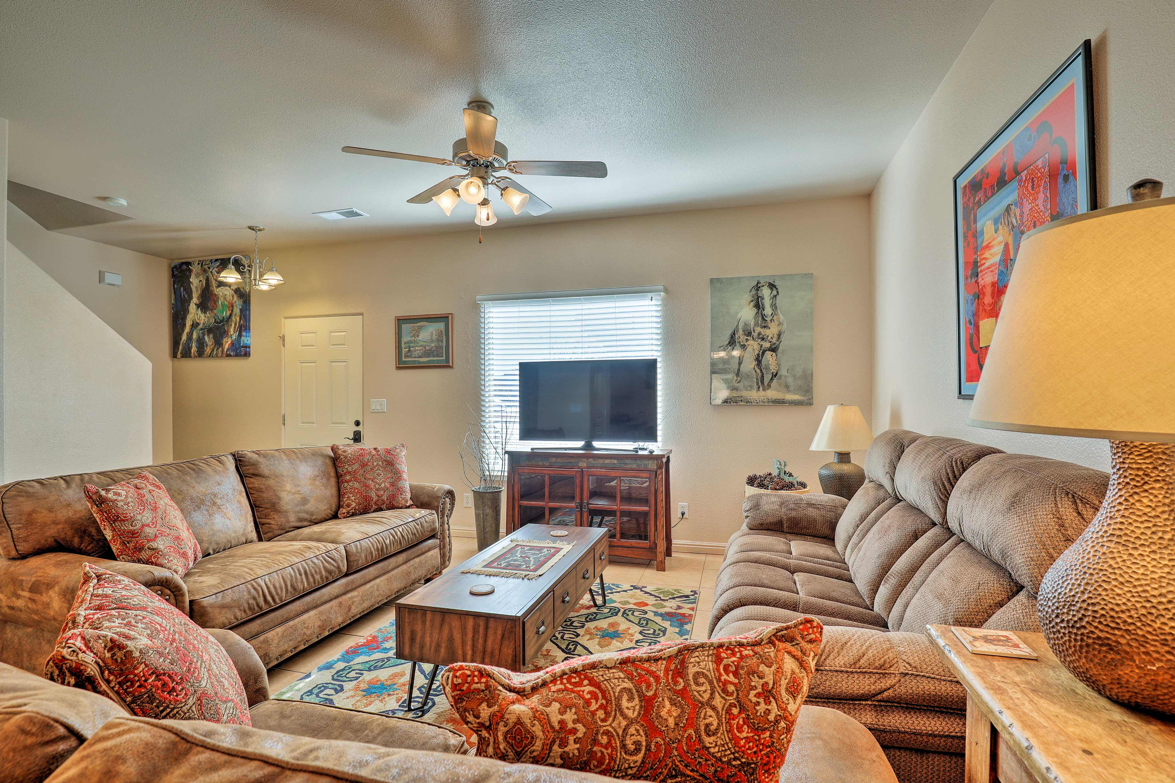 Make the most of your Utah getaway at this 3-BR, 1.5-BA vacation rental.