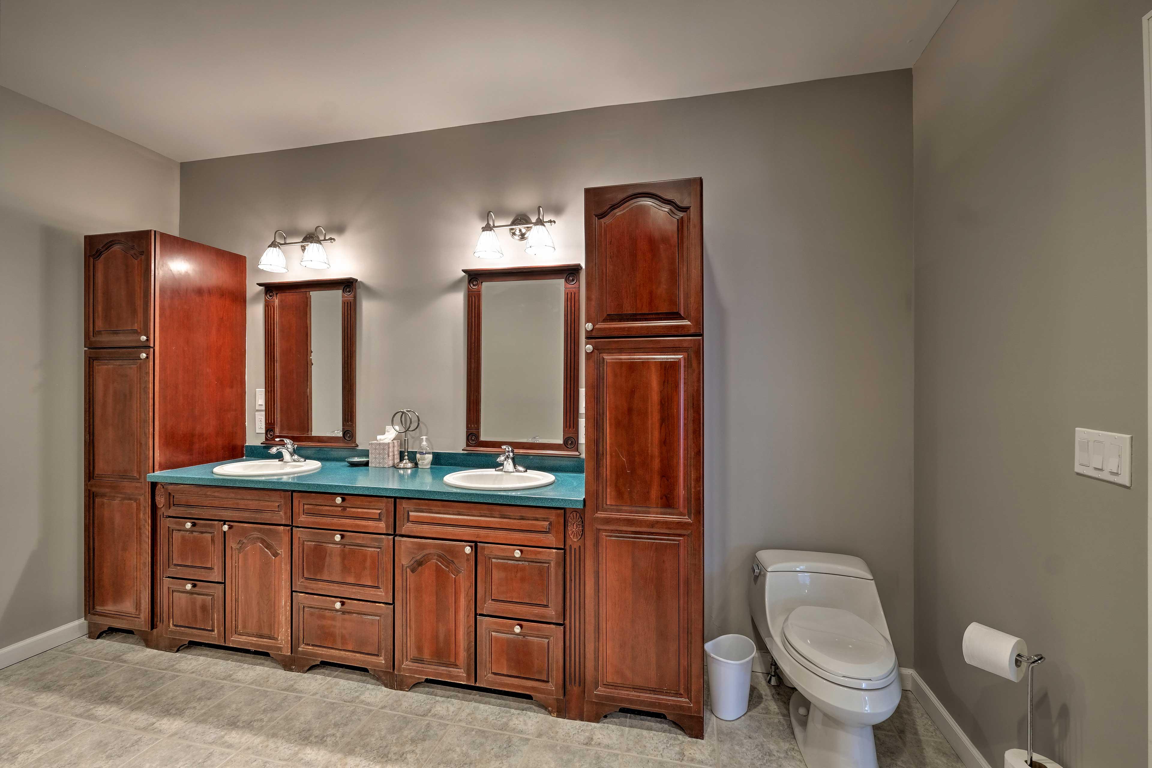 Bathroom 7: double vanity