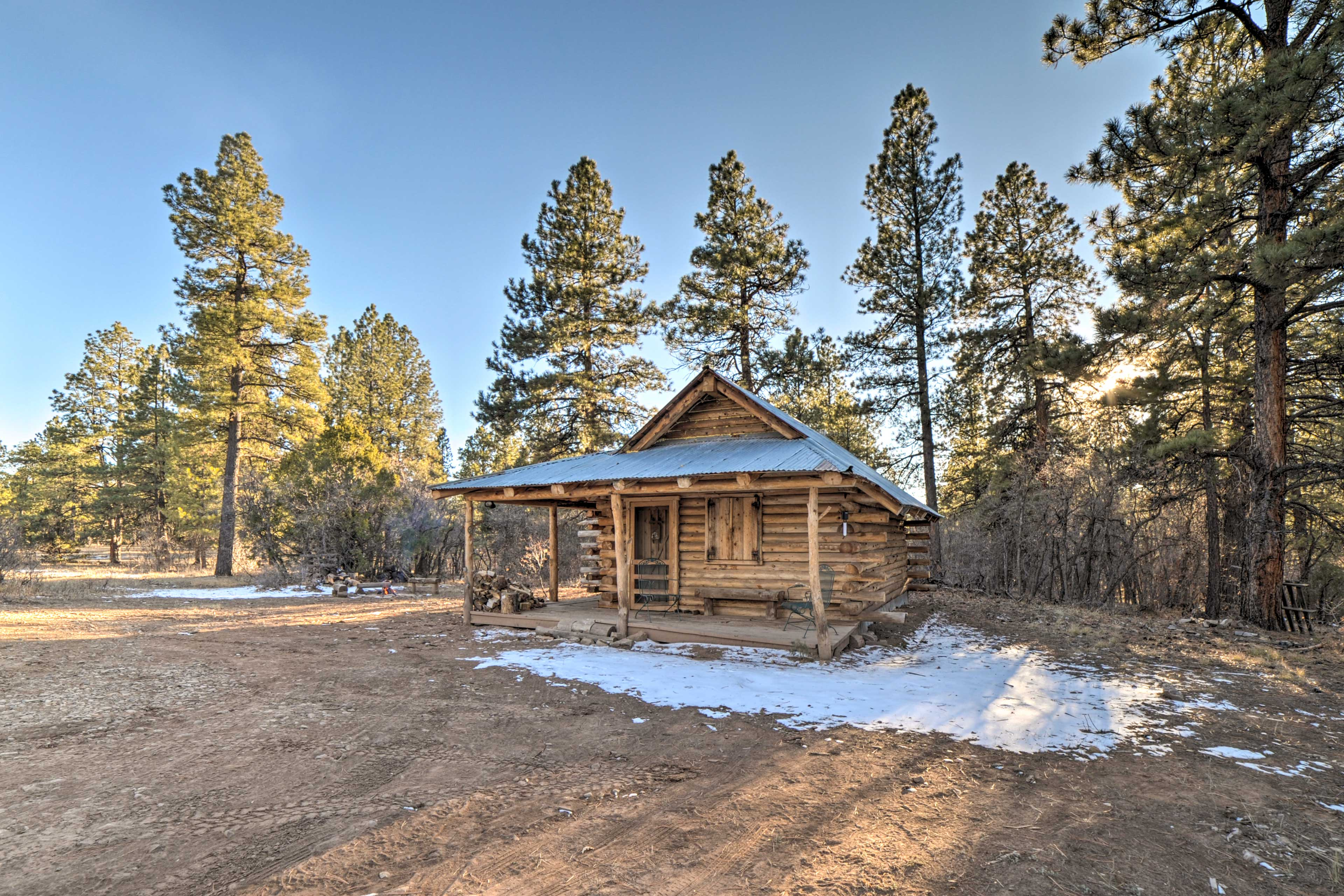 Run away to the San Juan National Forest and stay at this secluded sanctuary.