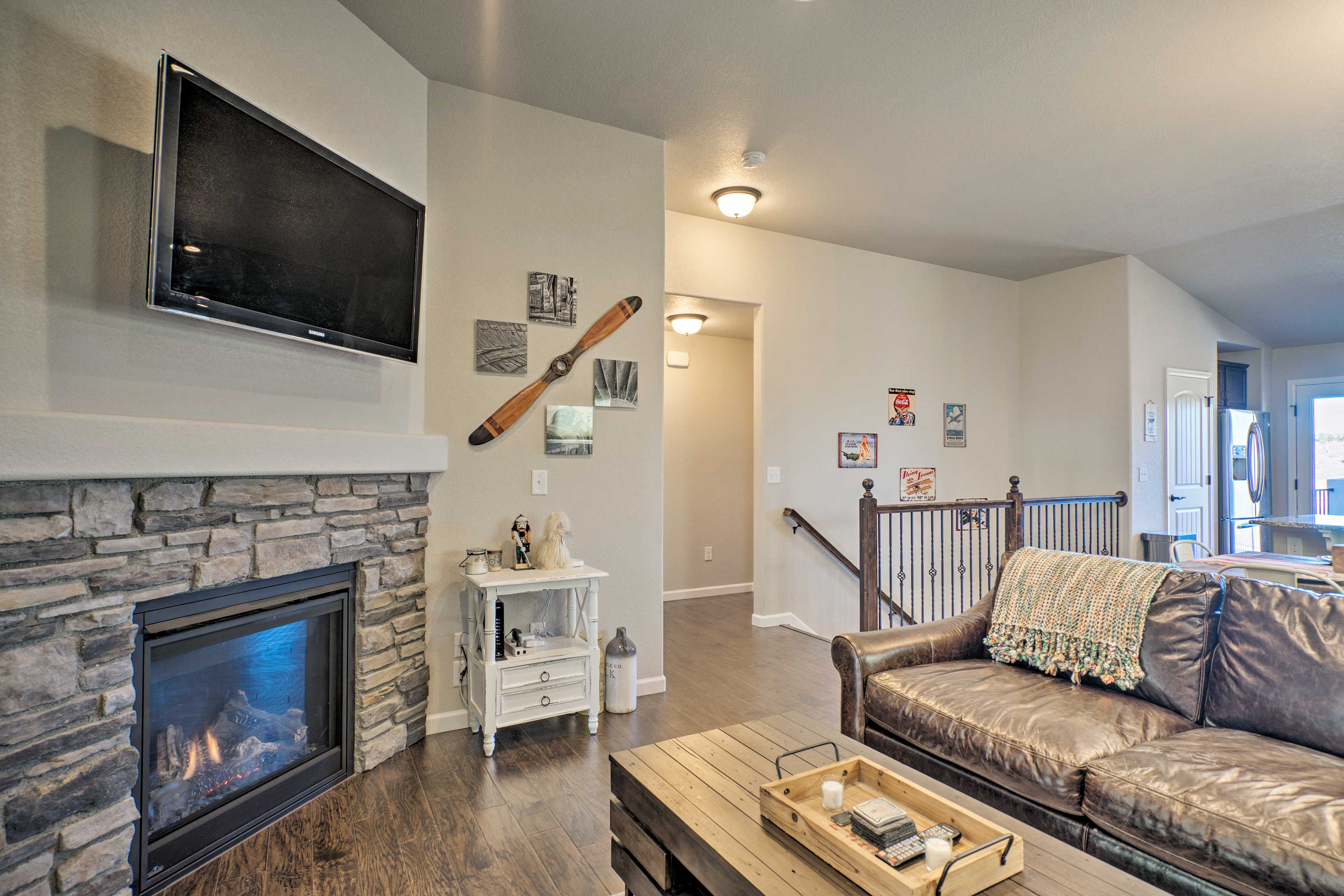 An exciting adventure awaits at this 3-bedroom, 2.5-bath Colorado Springs home!