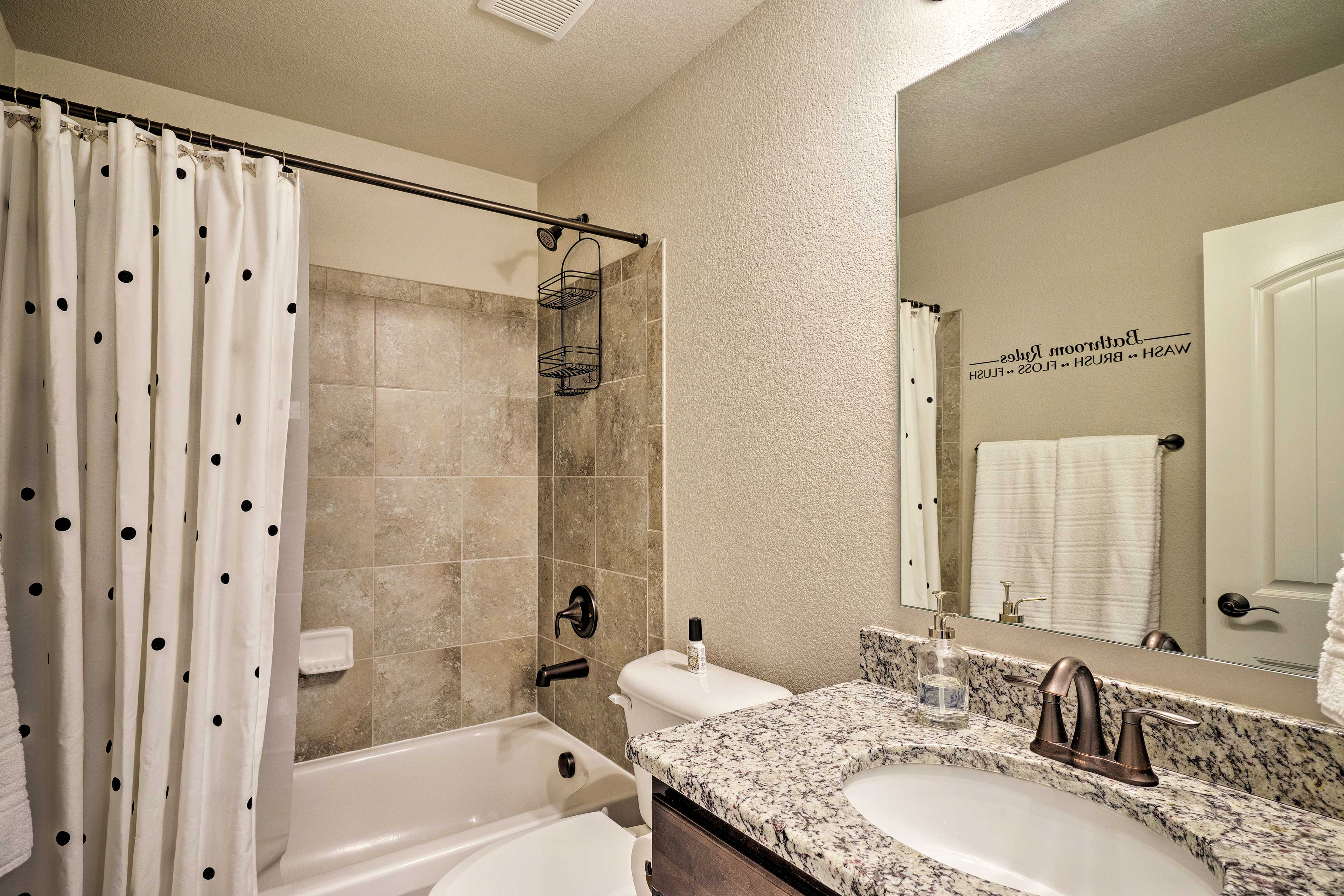 All guests will have access to freshly laundered towels and linens.