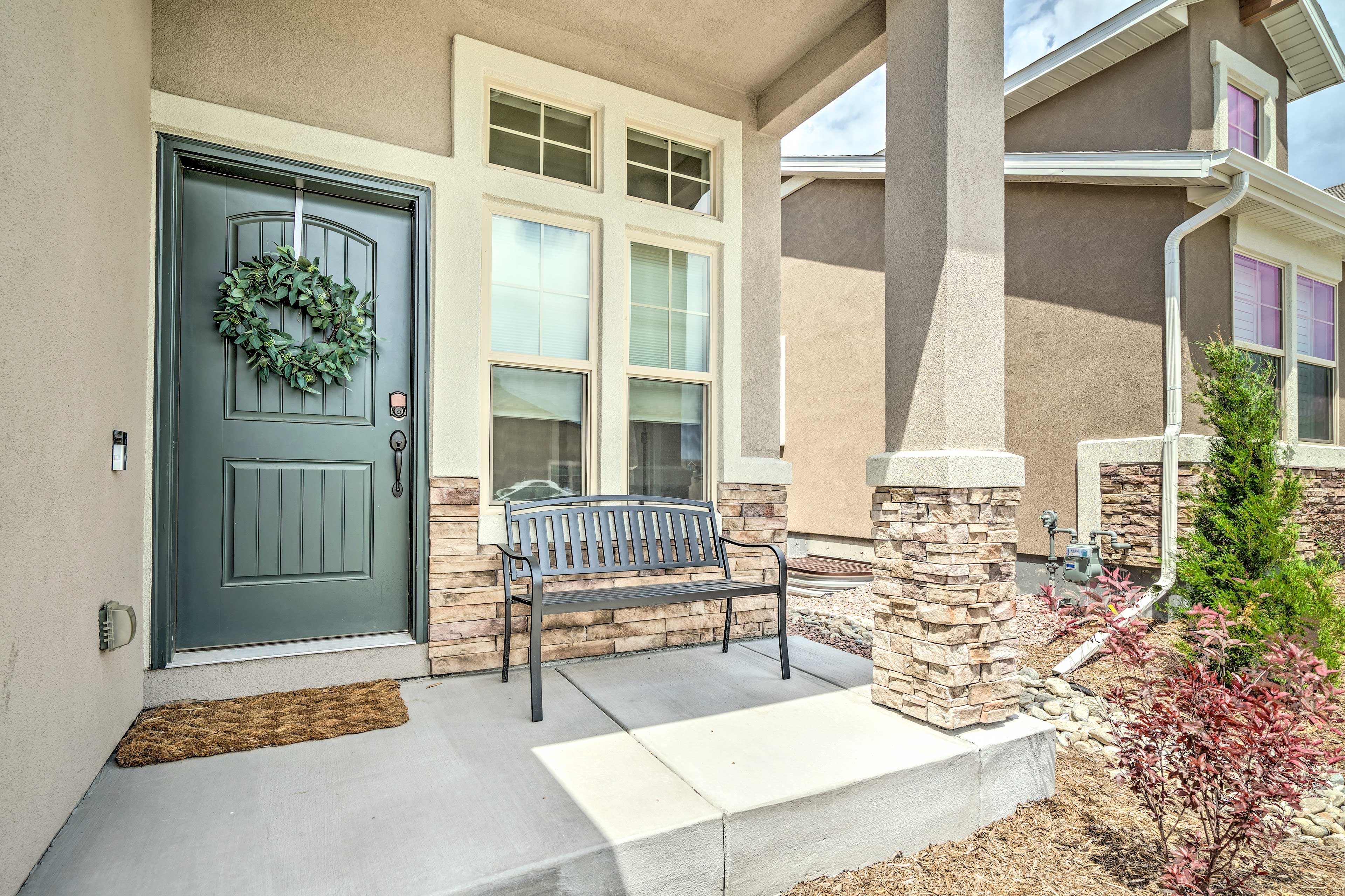 Book now to reserve this chic, modern townhome in Colorado Springs!