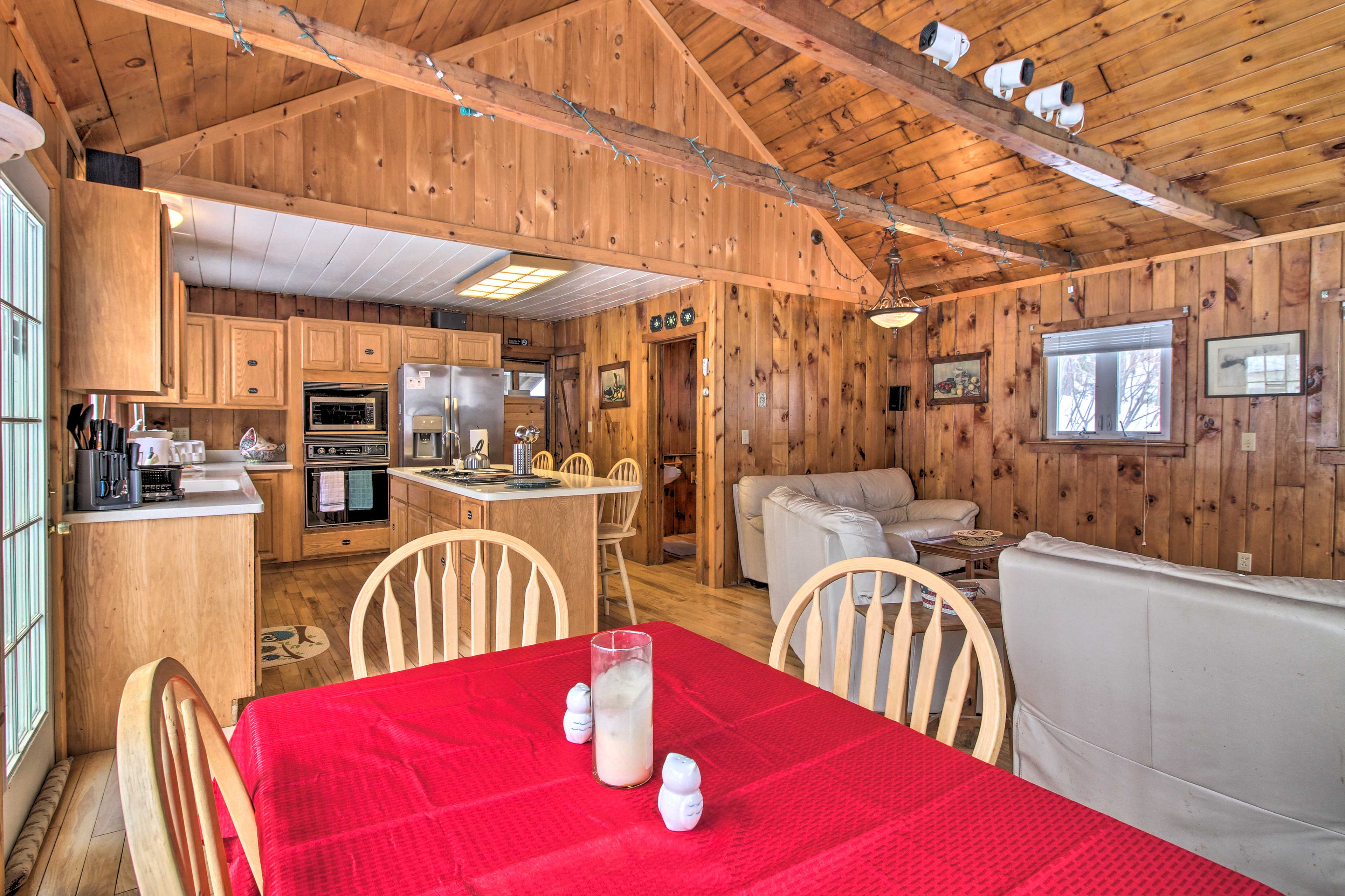 Book a trip to this 4-bedroom, 3-bathroom vacation rental home in Ludlow!