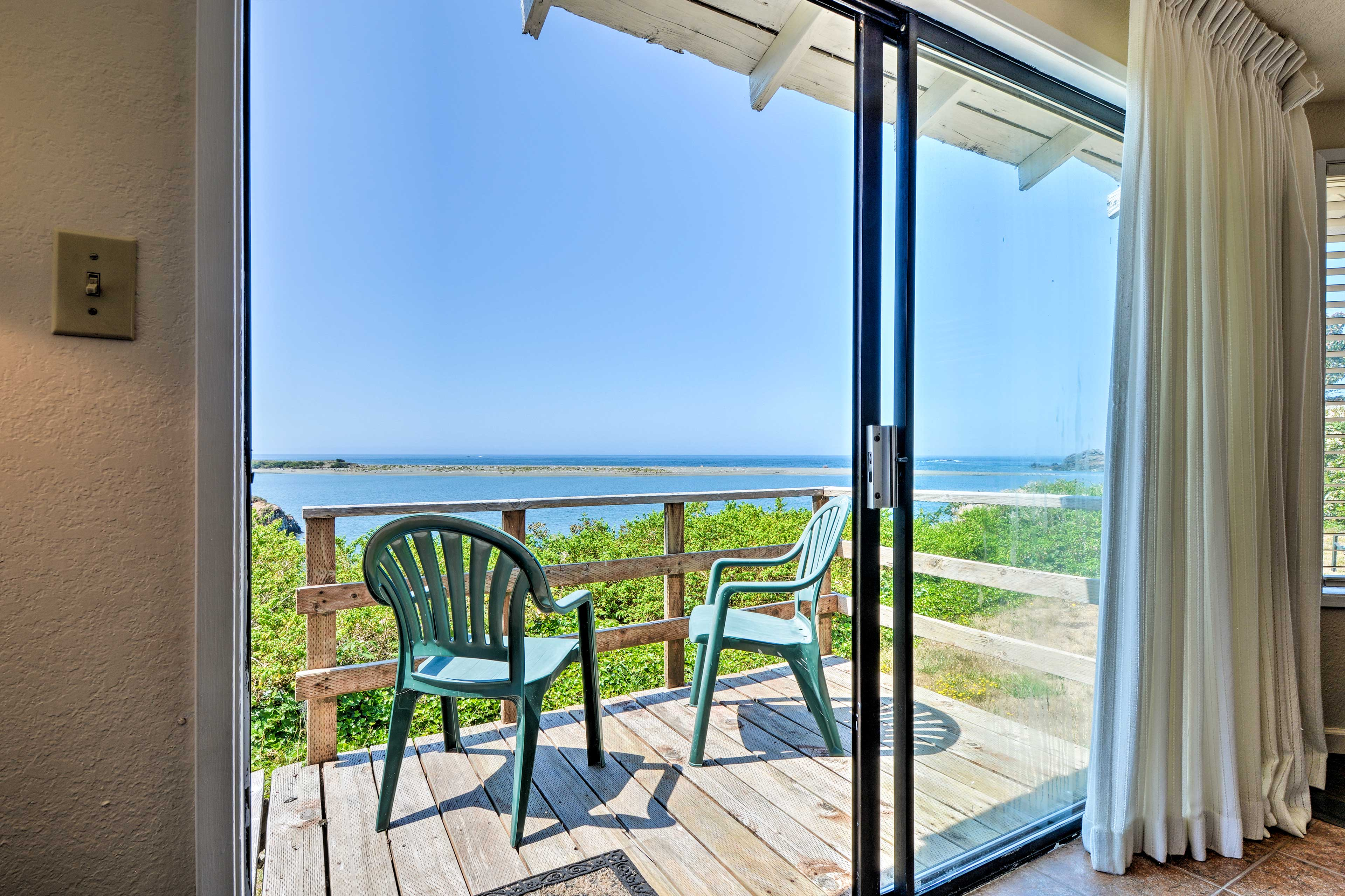 Relax on the deck and gaze into the ocean.