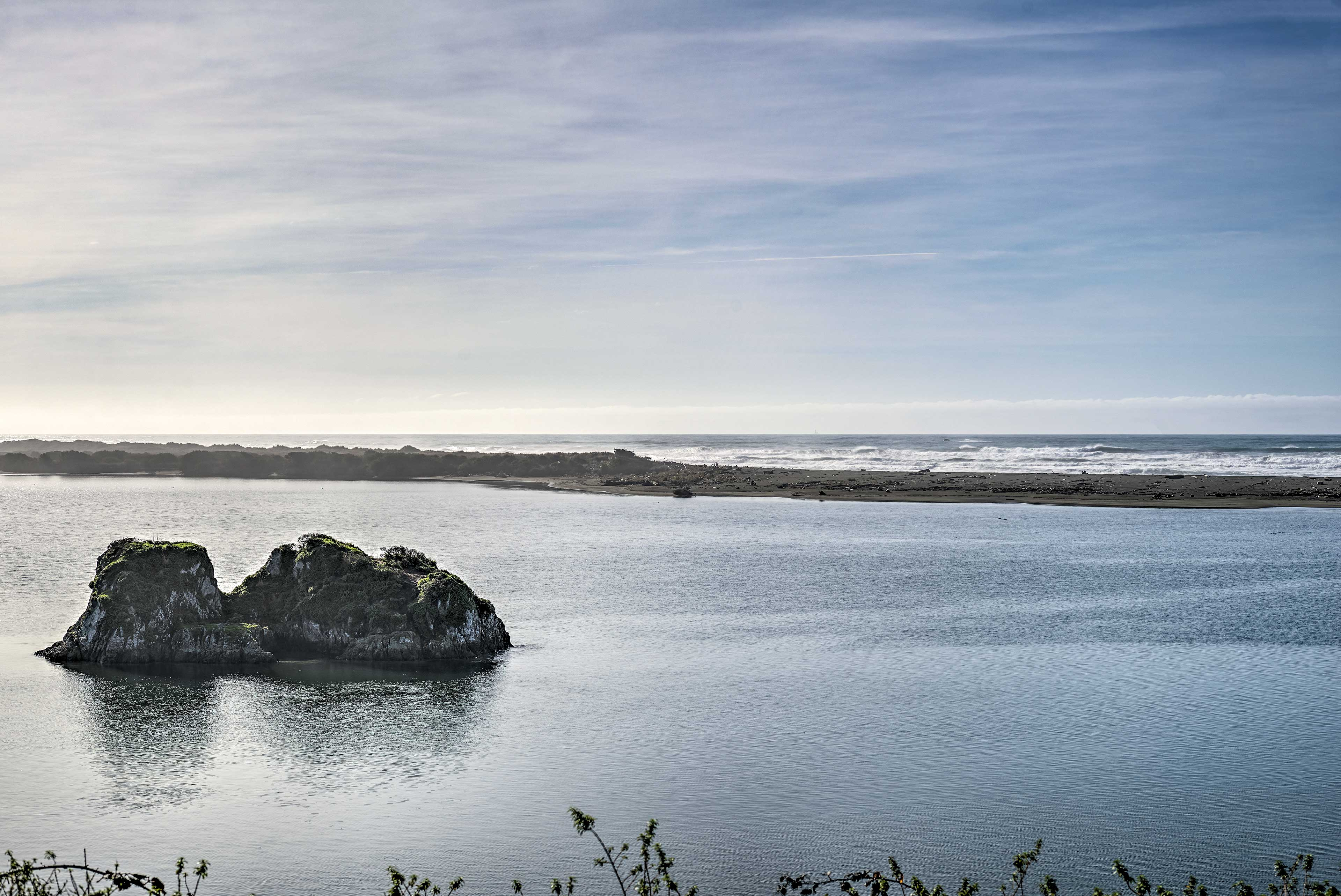 Located in Smith River, this cottage for 4 is steps from the Pacific Ocean.