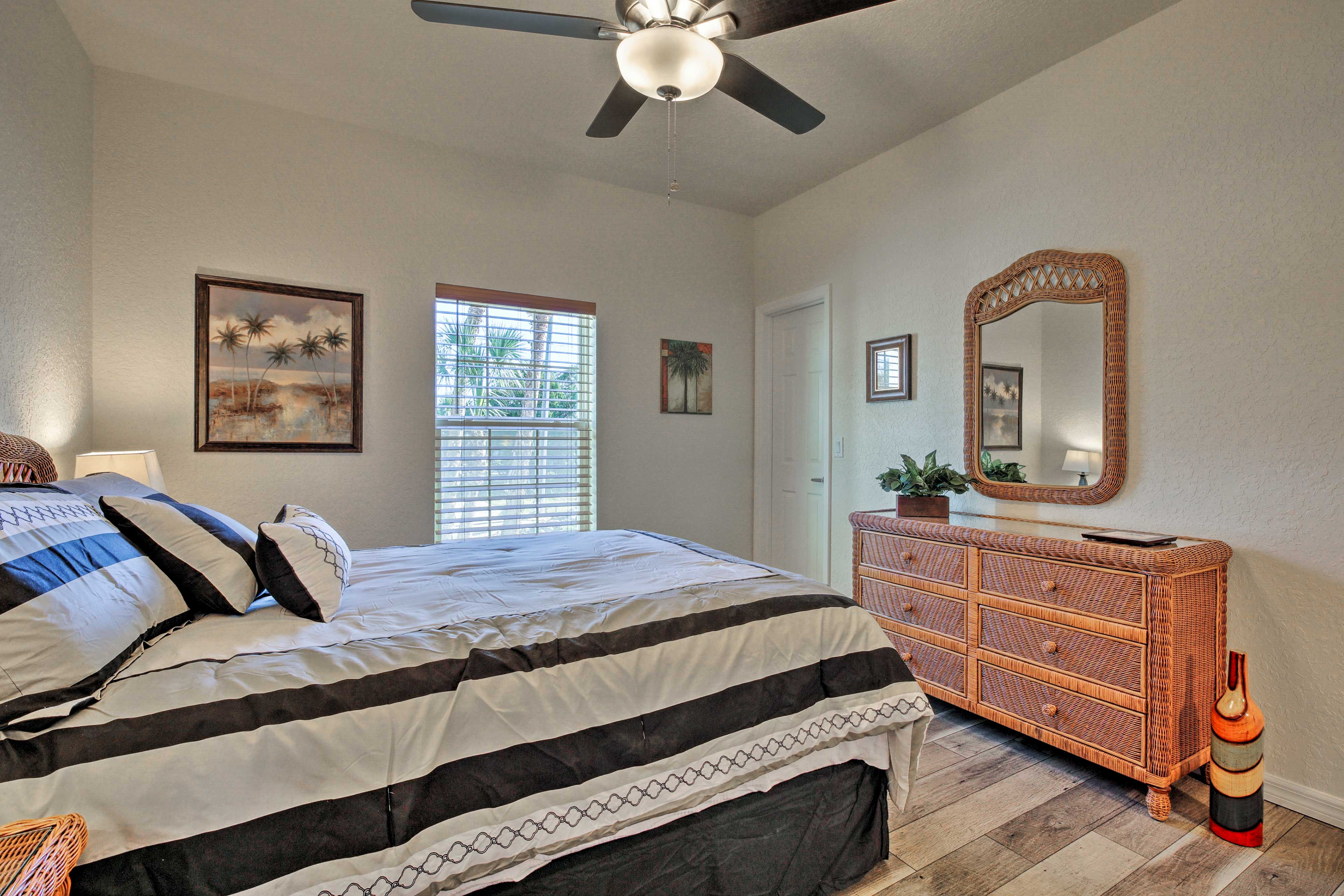 The third bedroom also boasts a queen bed.