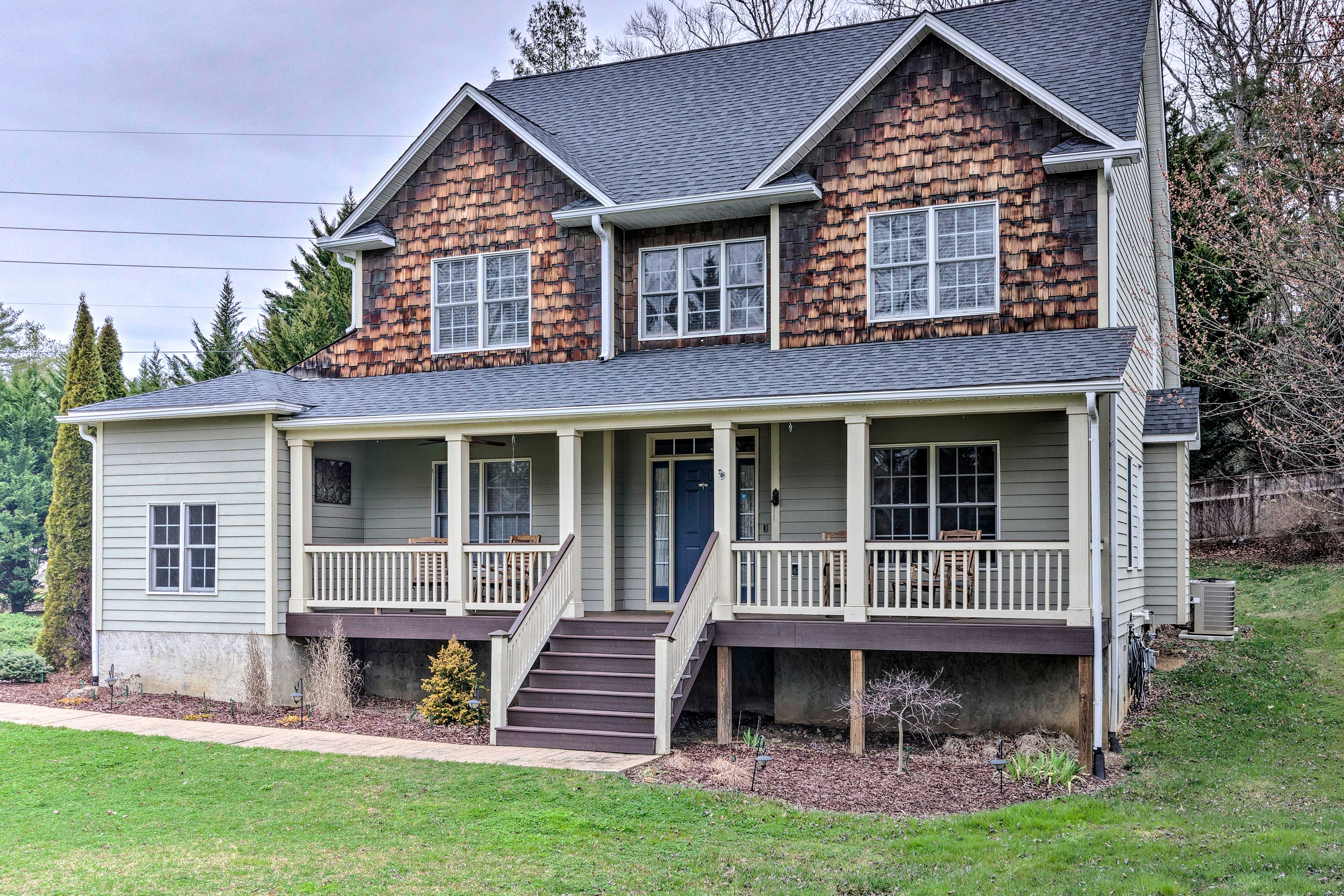 This house is just 15 miles from downtown Asheville!