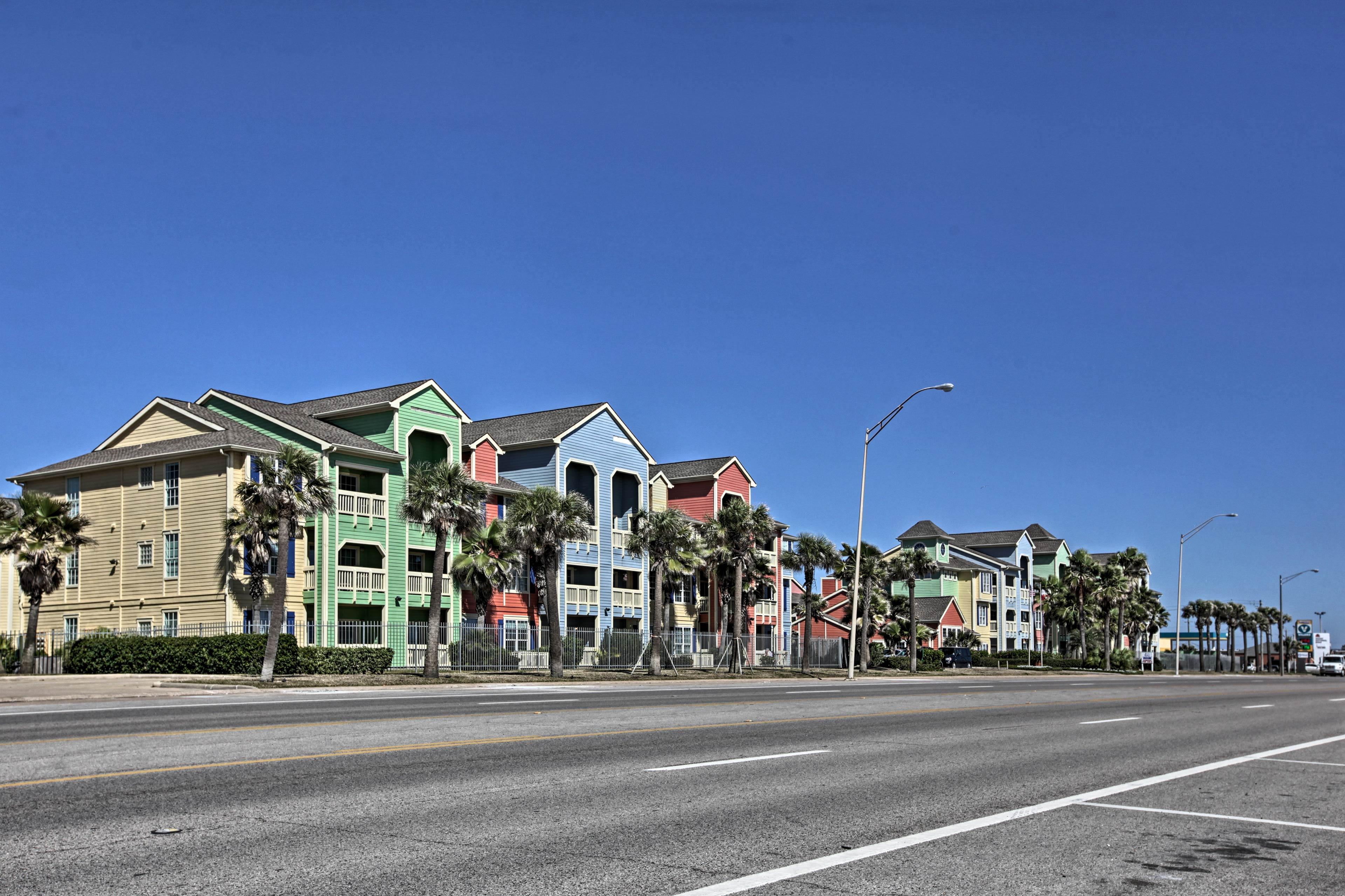 Your tropical paradise awaits in Galveston, Texas!