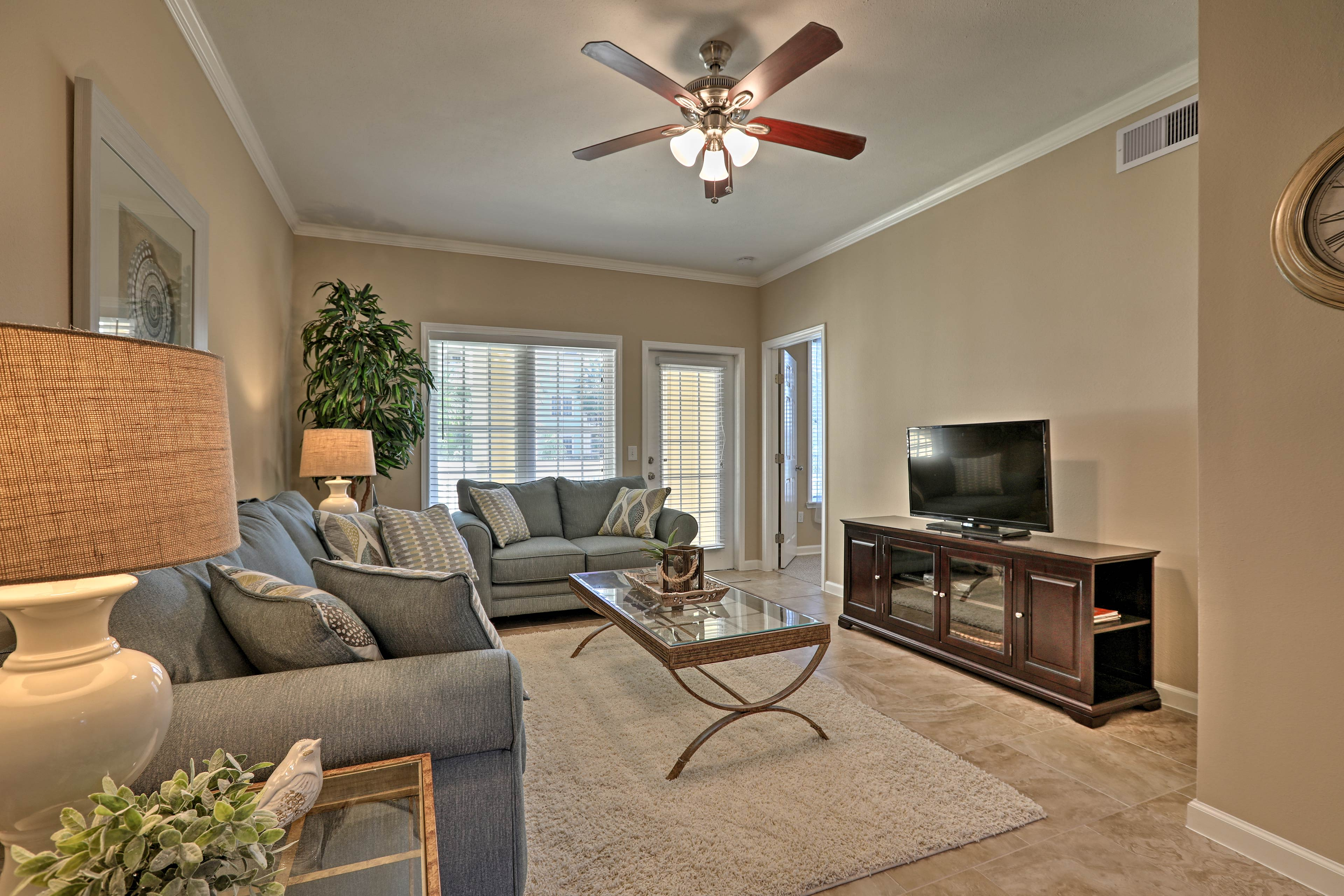 Get away to Galveston and stay at this brand new 1-BR, 1-BA vacation rental.