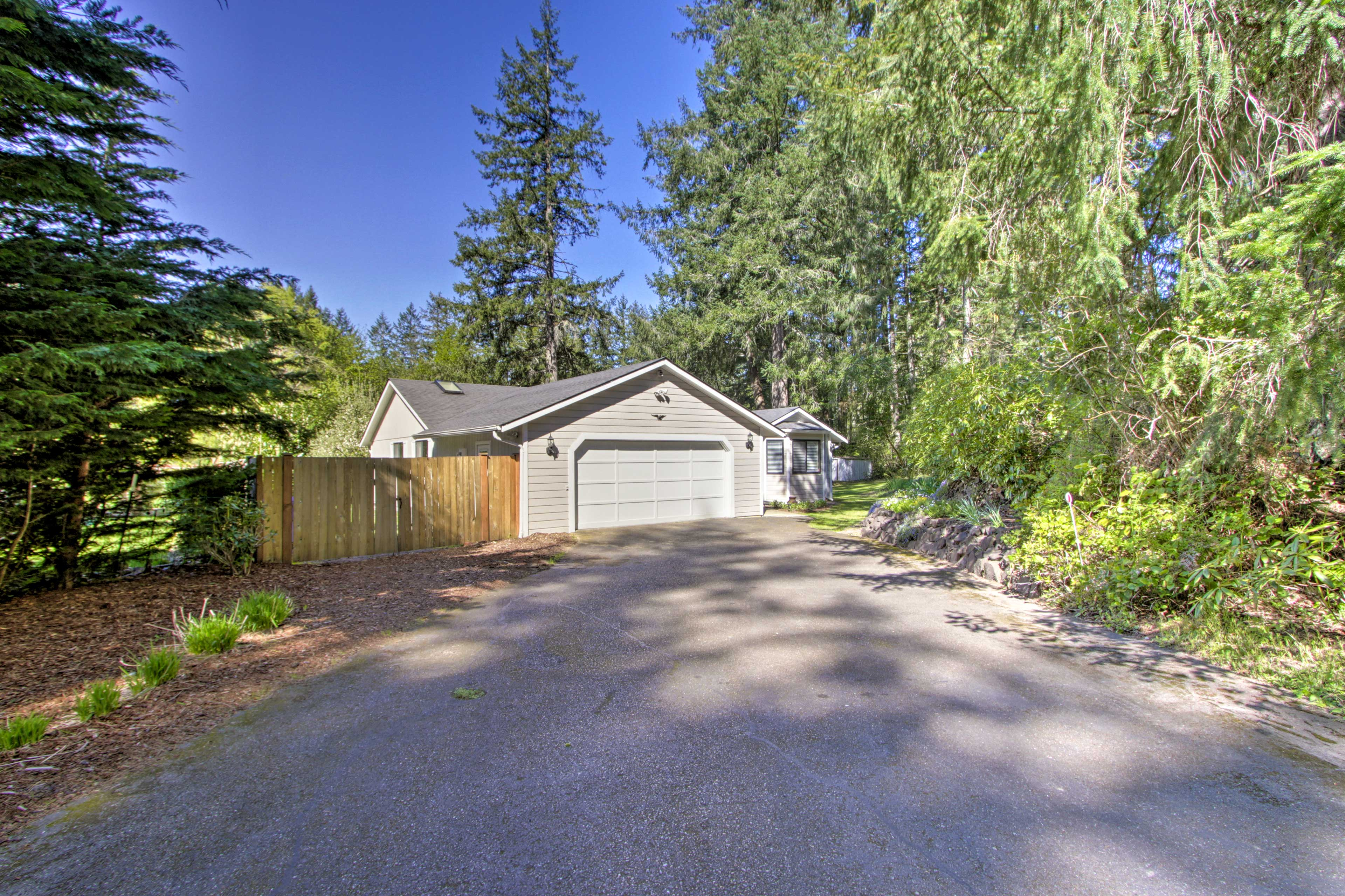 You'll also find parking for 4 vehicles at this Olympia home.