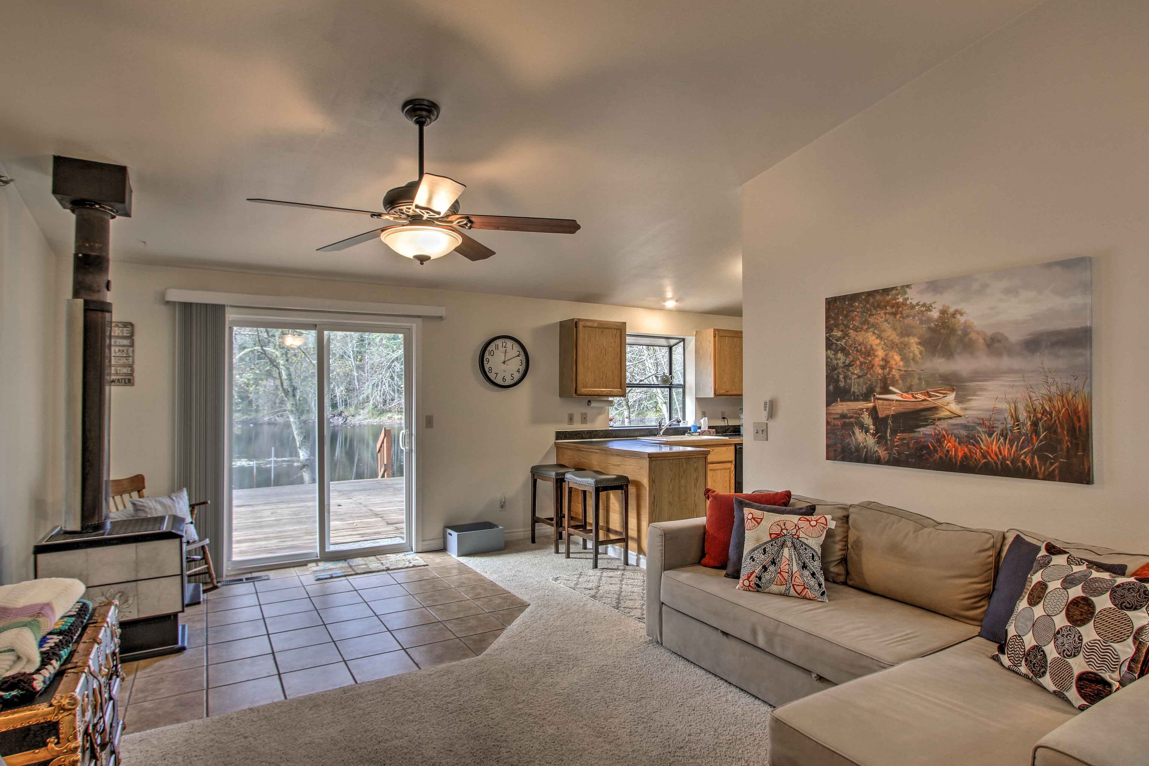 With multiple living spaces, this home can easily accommodate a family.