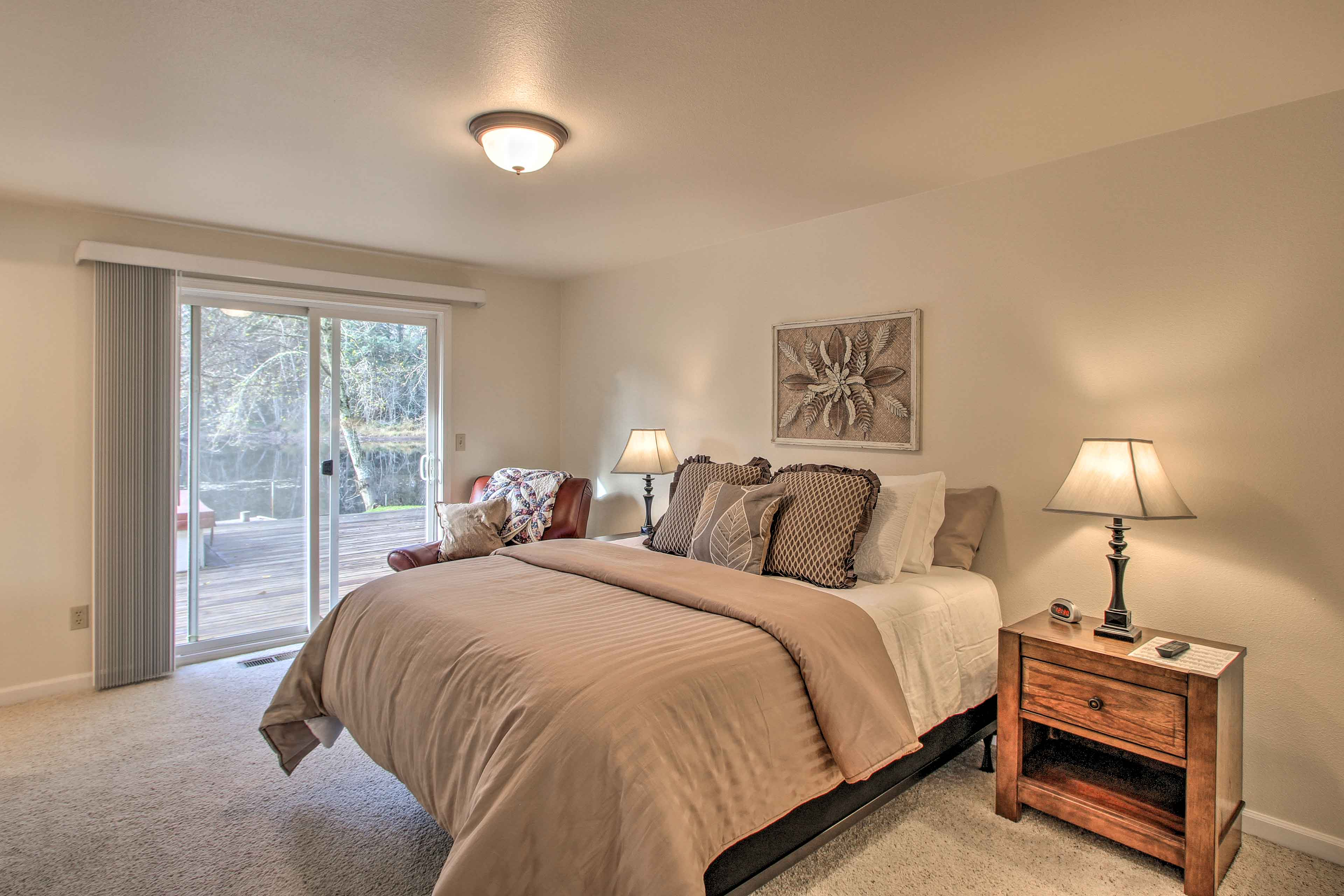 Rest easy in this master bedroom!