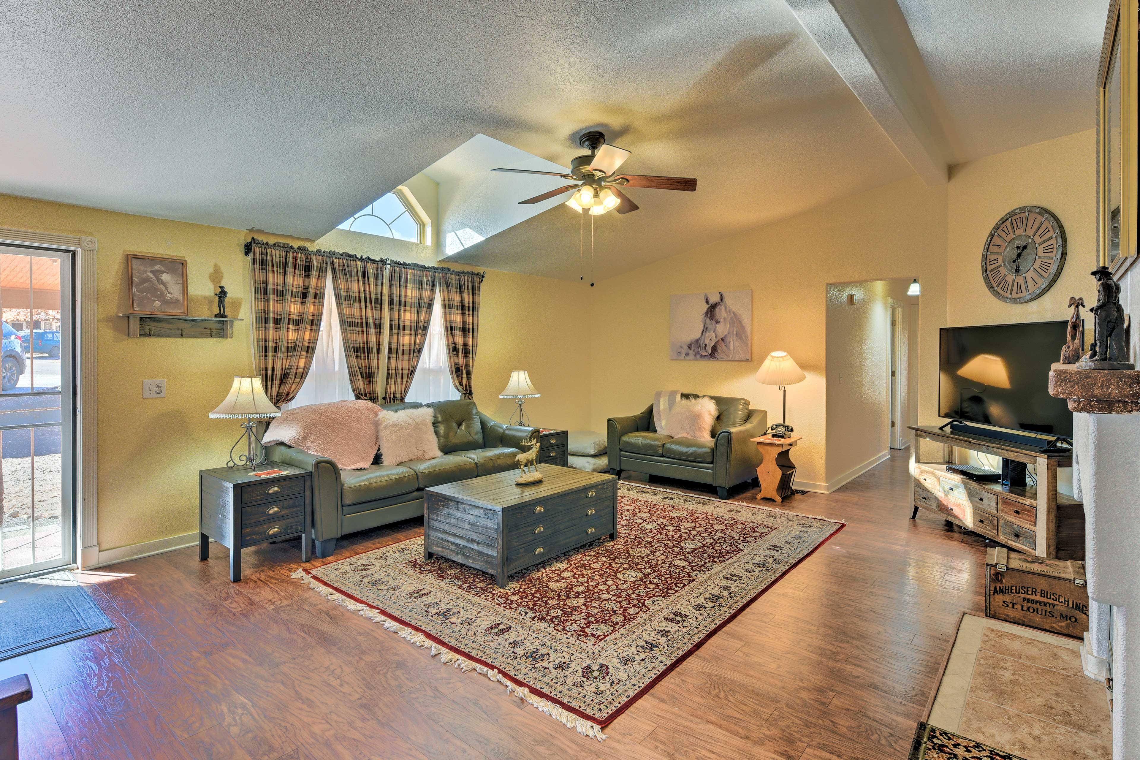 The home features 1,722 square feet of living space, 3 bedrooms, & 2 full baths.