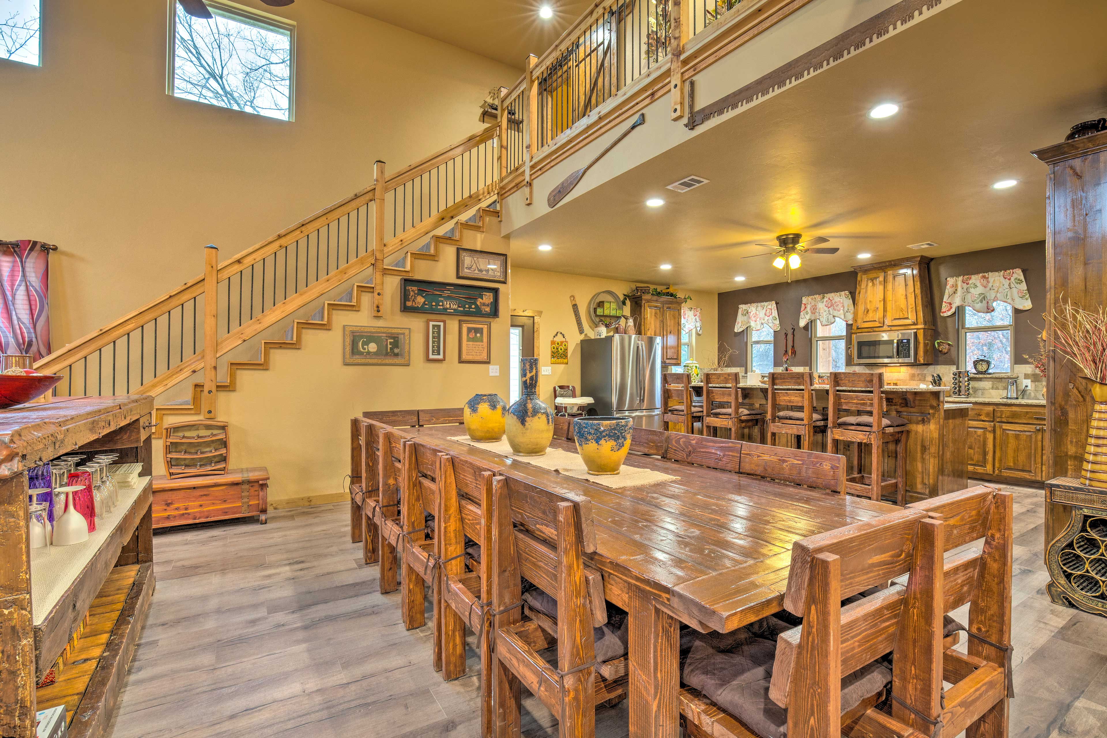 This 6-bedroom, 5.5-bath home is perfect for family getaways.