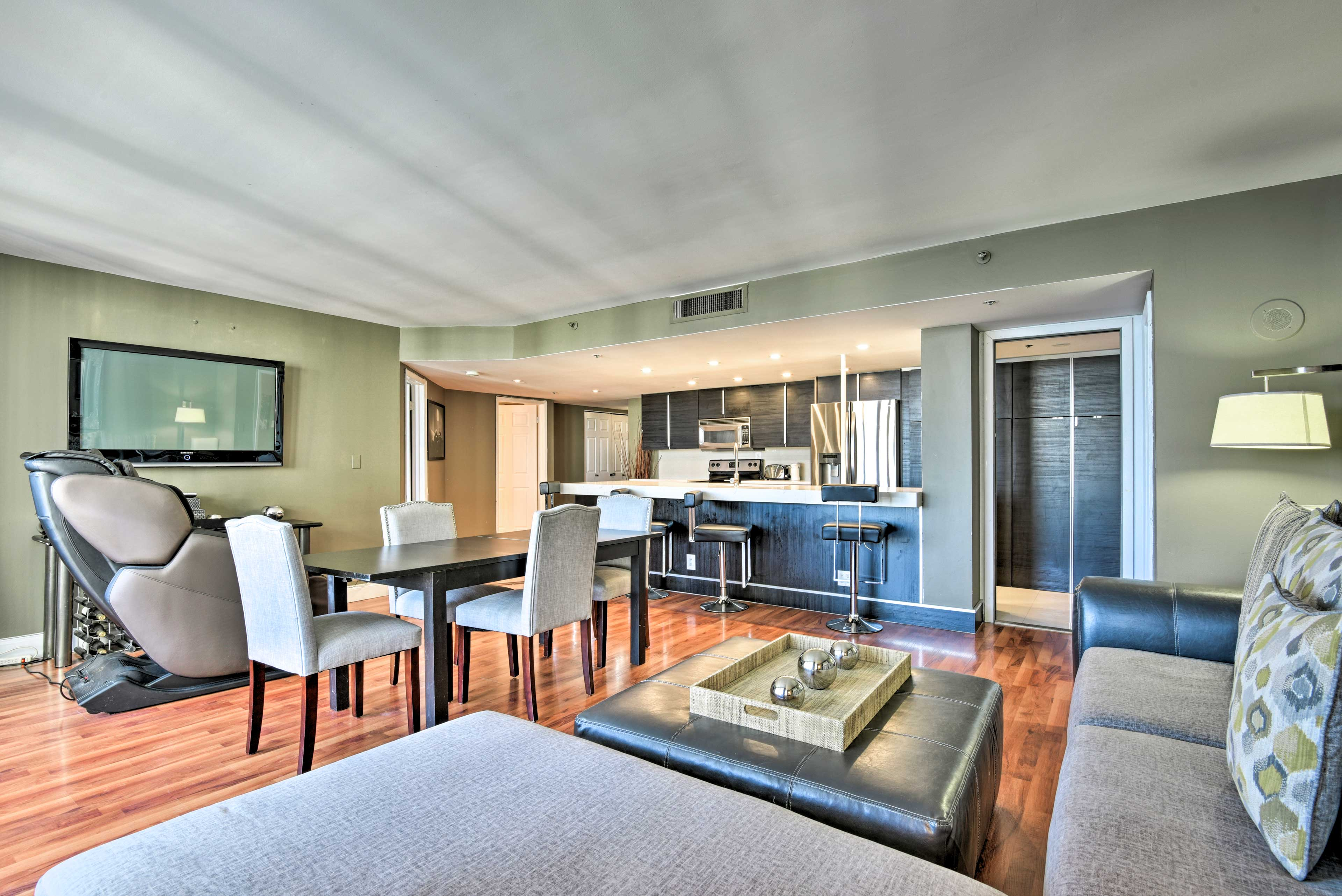 Book your Miami retreat to this 2-bedroom, 2-bath vacation rental penthouse!
