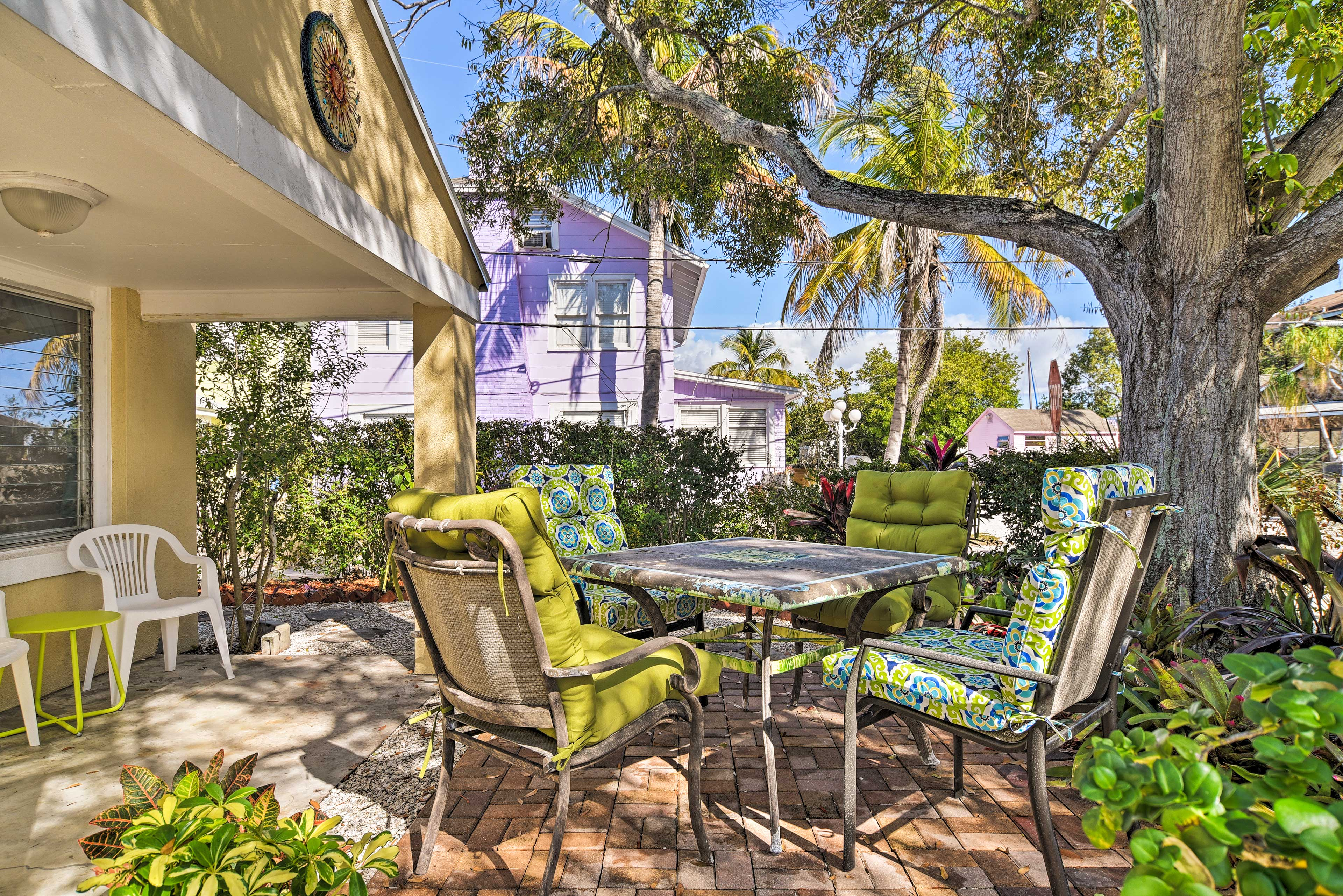 Comfort & convenience collide on the Florida coast at this 2-bed, 1-bath home!