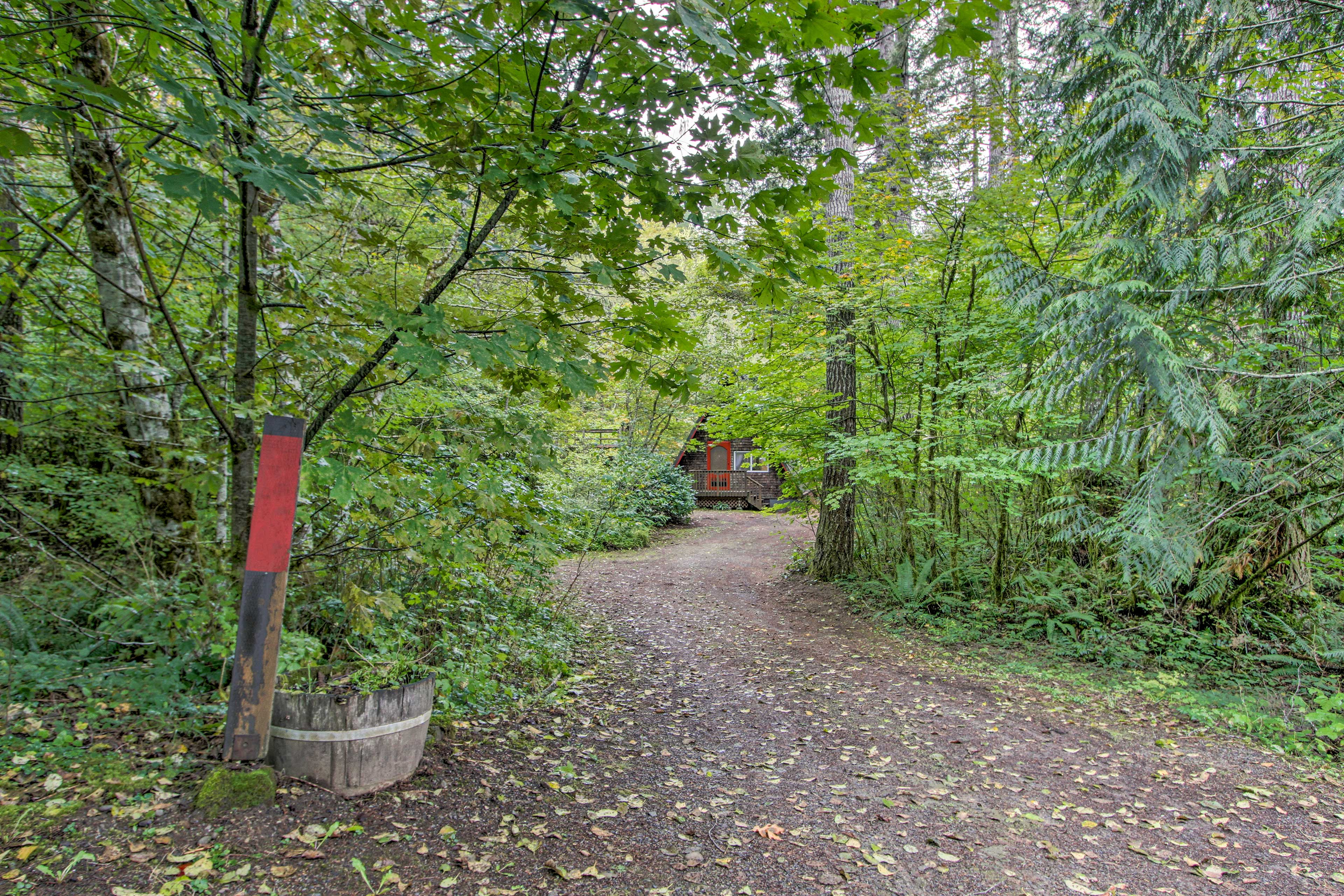 Welcome to your fairytale escape in Hoodsport, Washington!