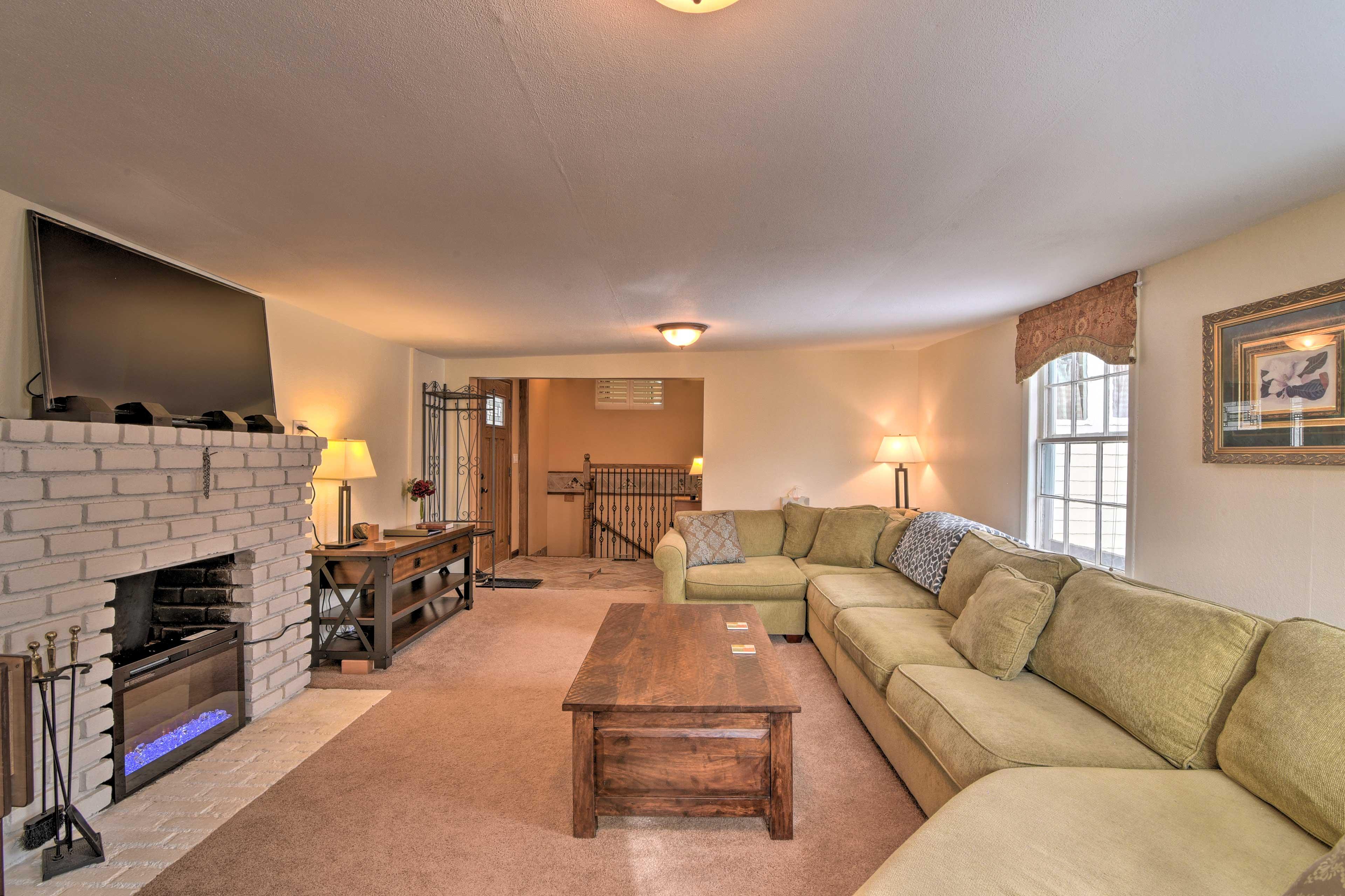 Unwind in this lavish 4-bedroom, 3-bath vacation rental home in Empire.