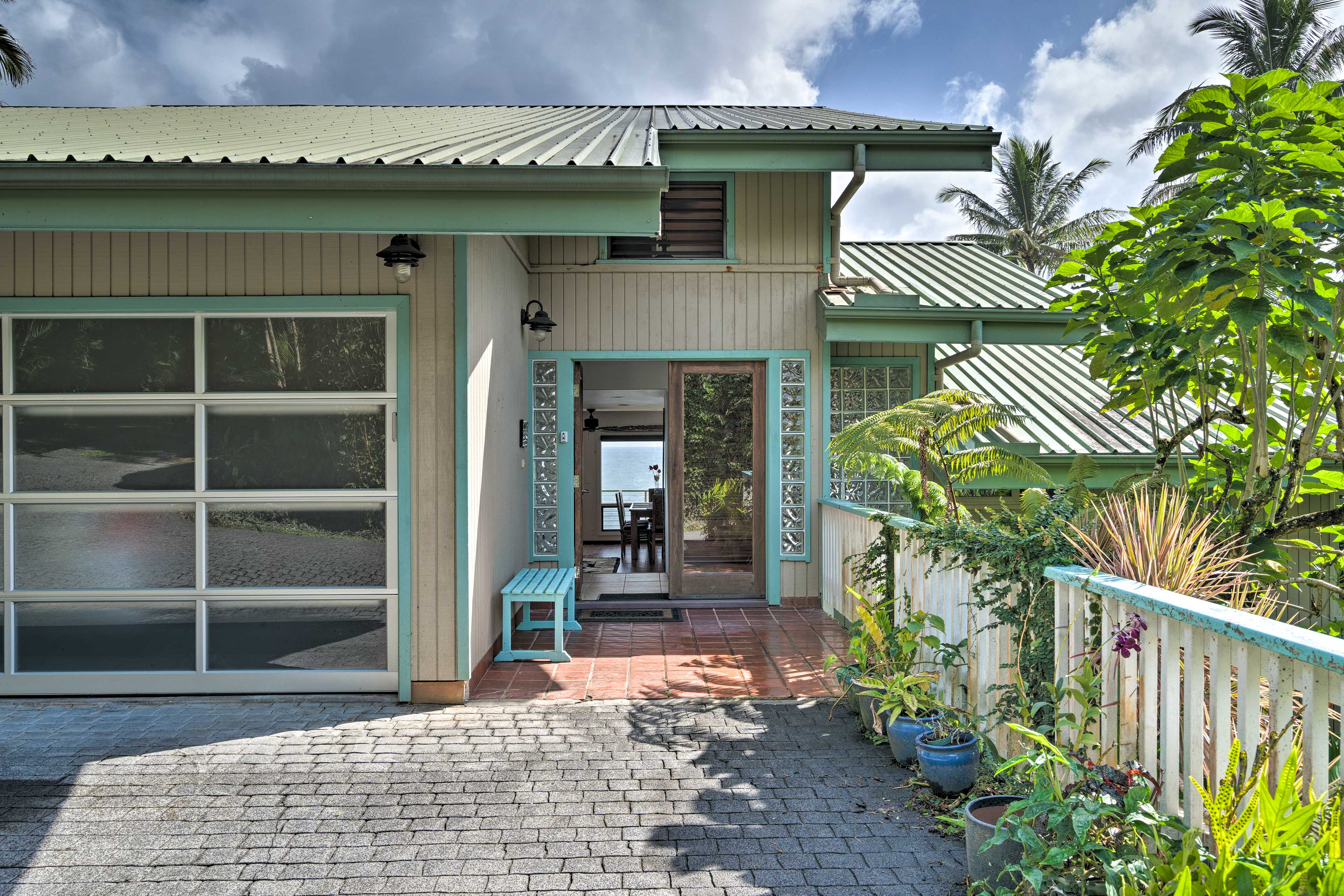 You won't want to leave this one-of-a-kind home just 2.5 miles from Hilo!